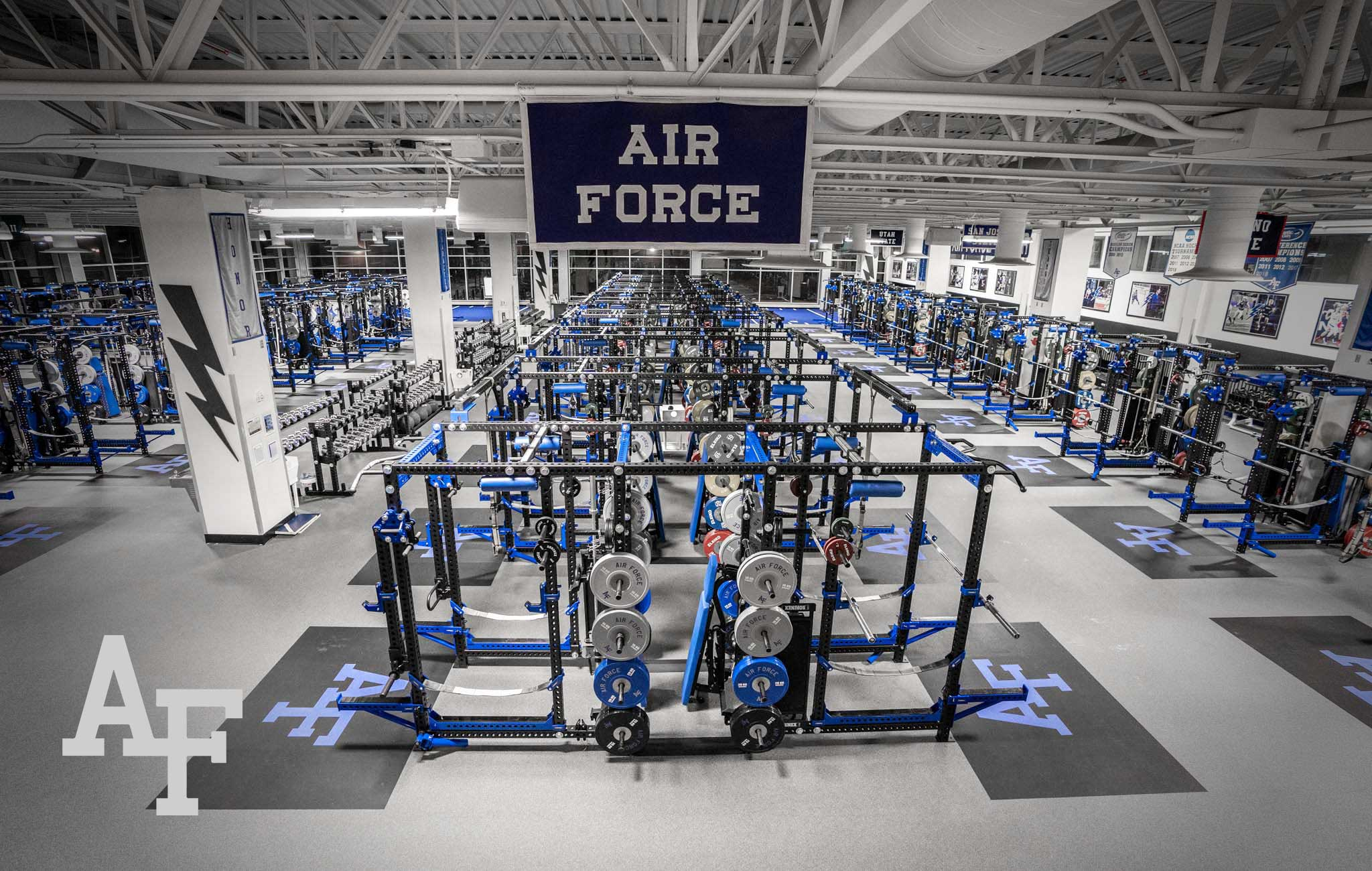 Air force academy Sorinex strength and conditioning facility