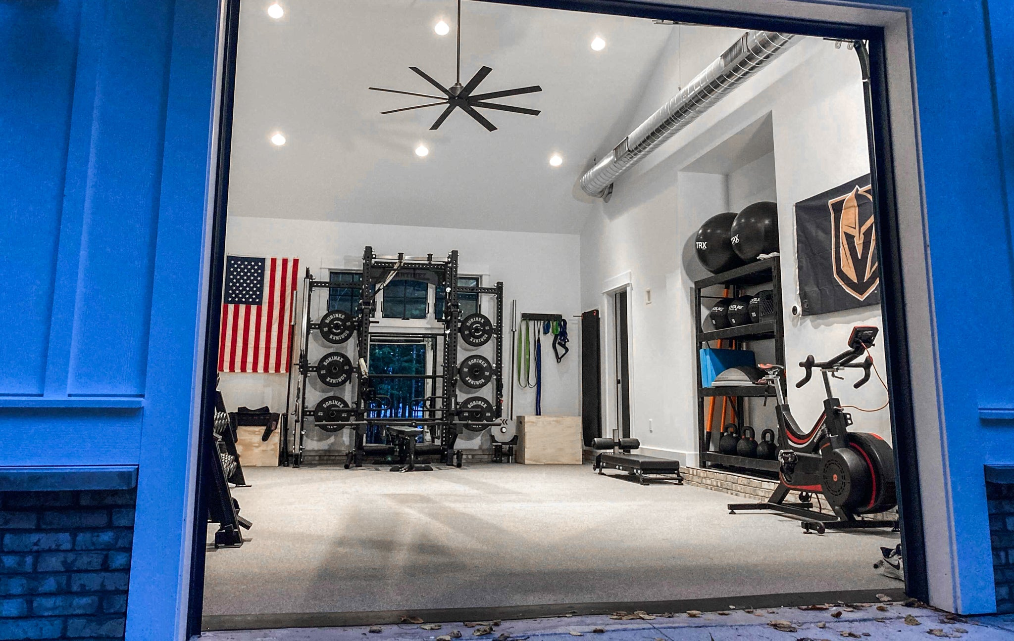 Alec Martinez Las Vegas Knights Home Gym