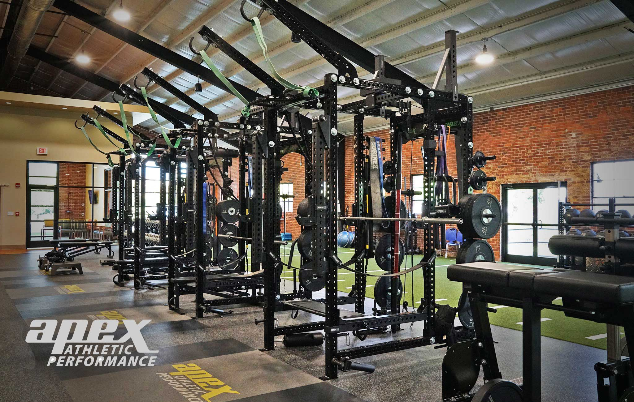 Apex Athletic Performancec Private Training facility Sorinex