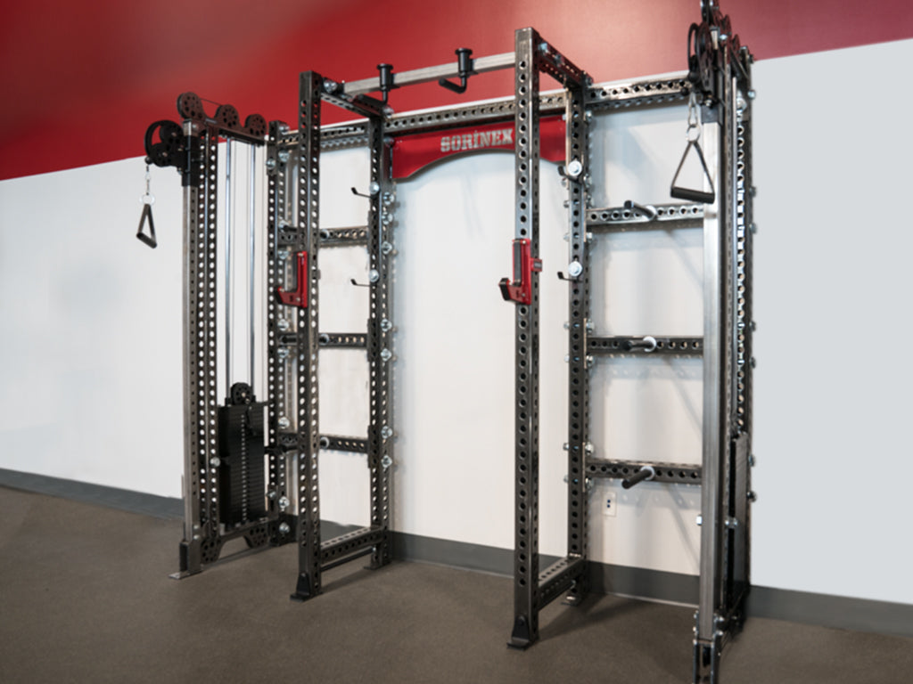 18 Total Sq. Ft. Rack