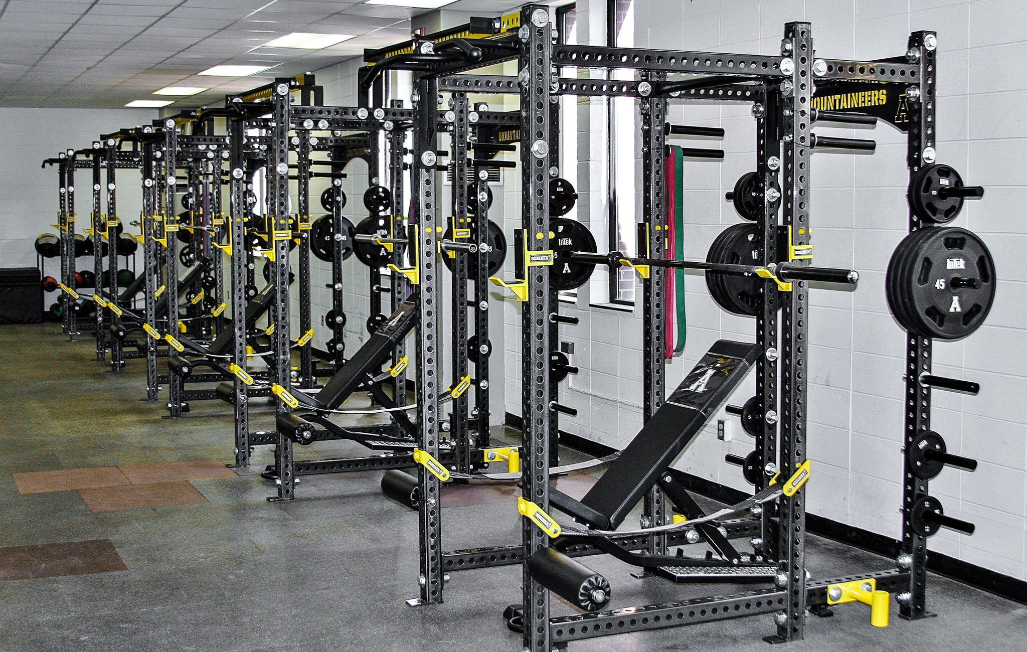 Appalachian State University Weight Room