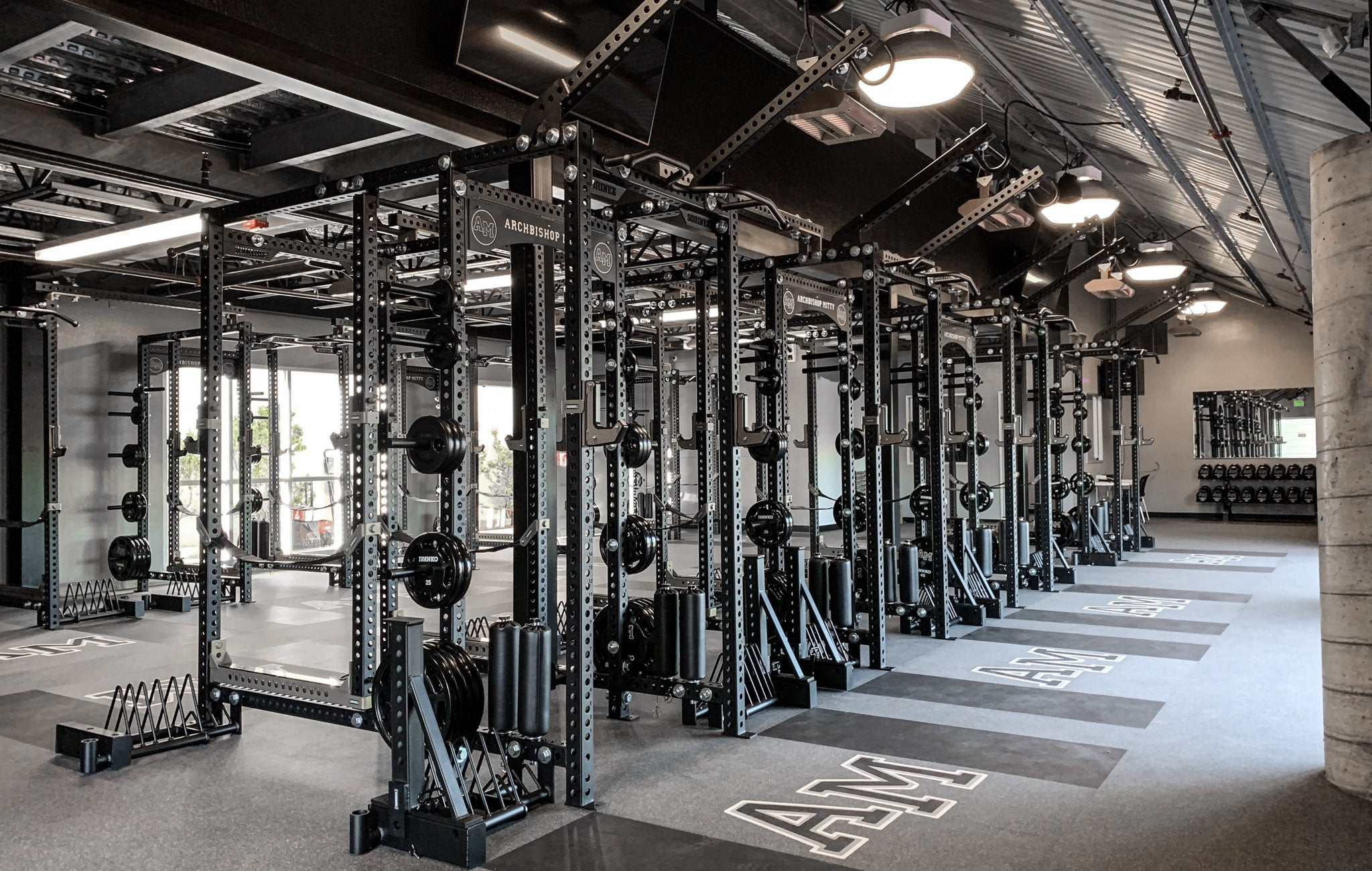 Archbishop Mitty High School Weight Room