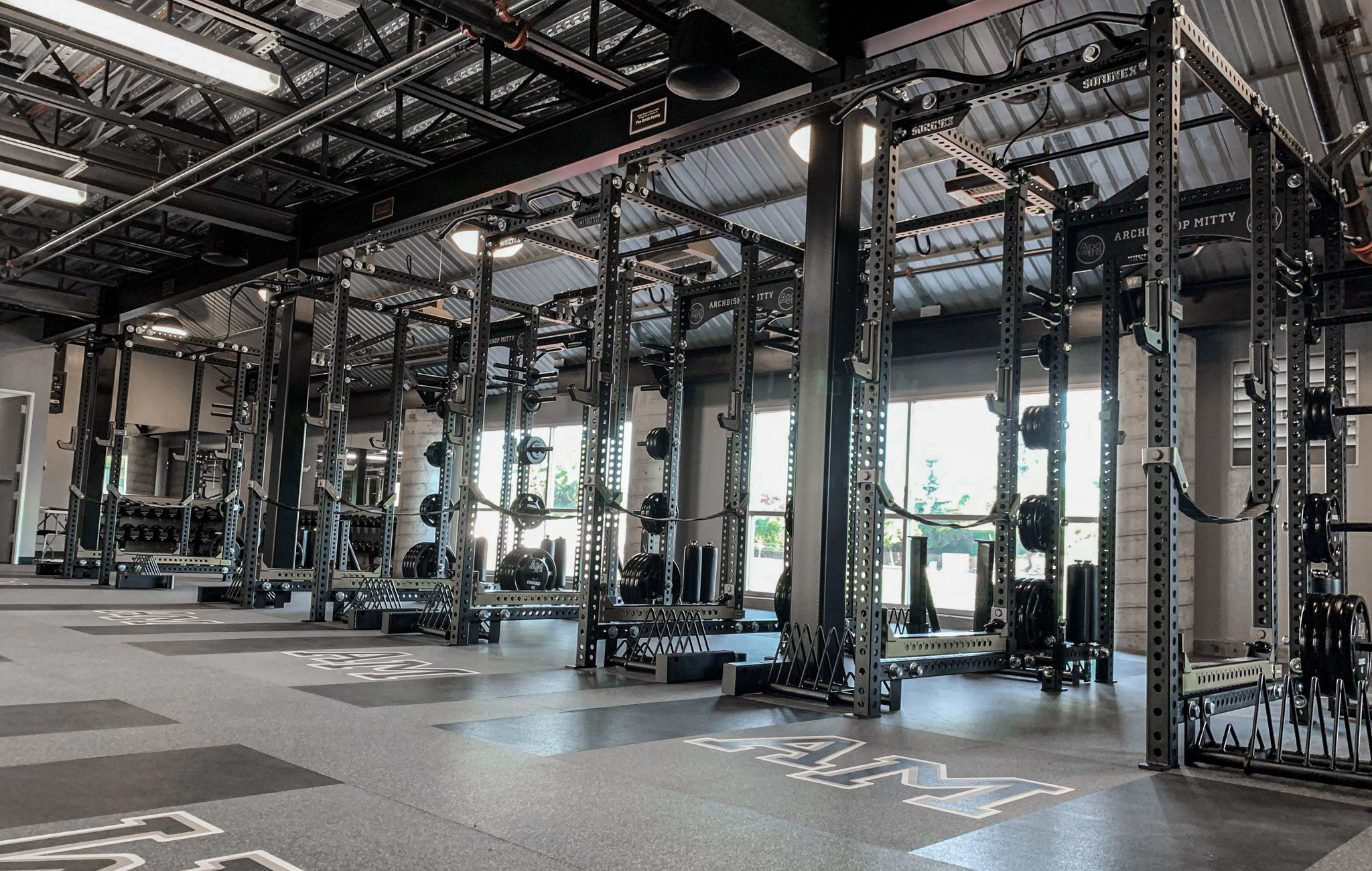 Archbishop Mitty High School strength and conditioning