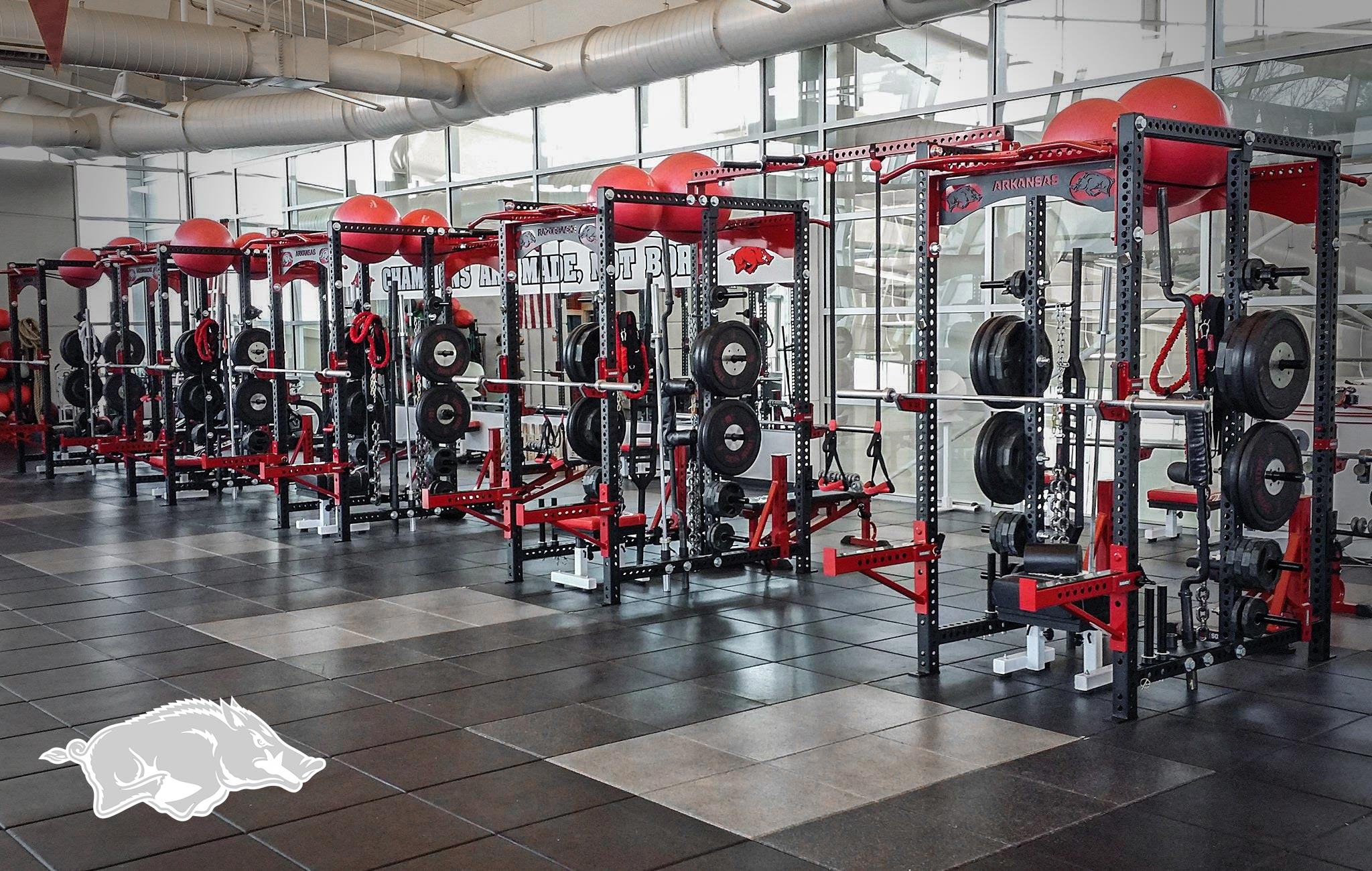 Arkansas Sorinex strength and conditioning facility