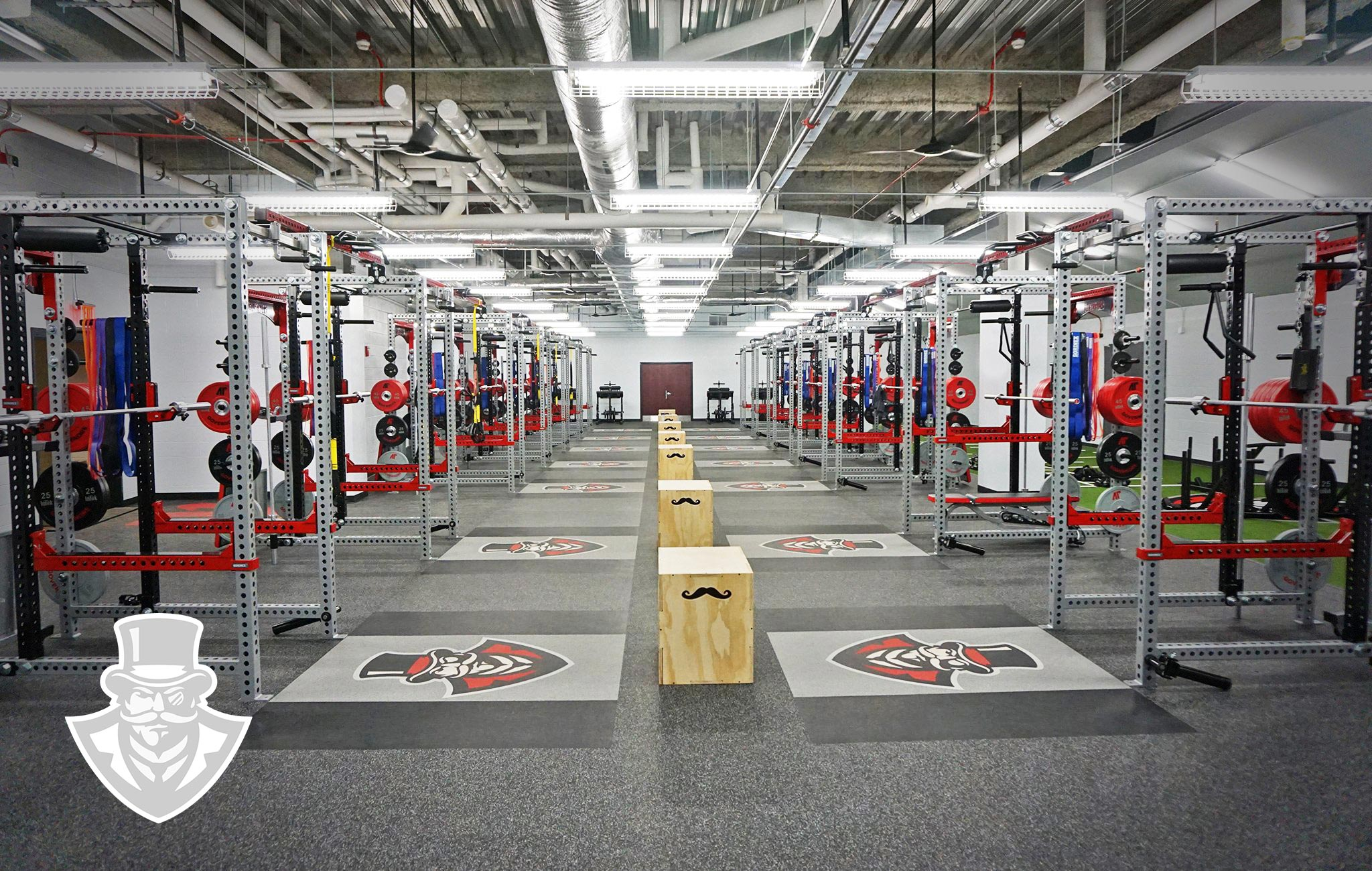 Austin Peay University Sorinex strength and conditioning facility