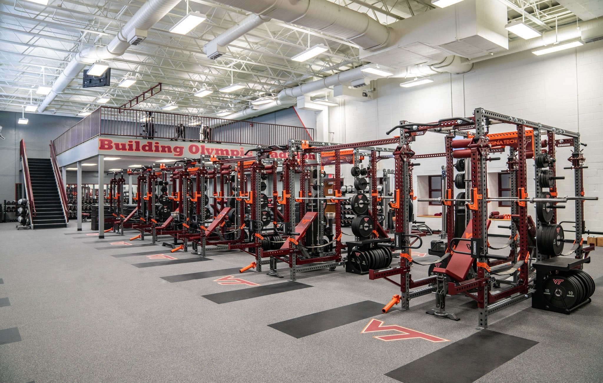 Virginia Tech Base Camp Double Full Racks