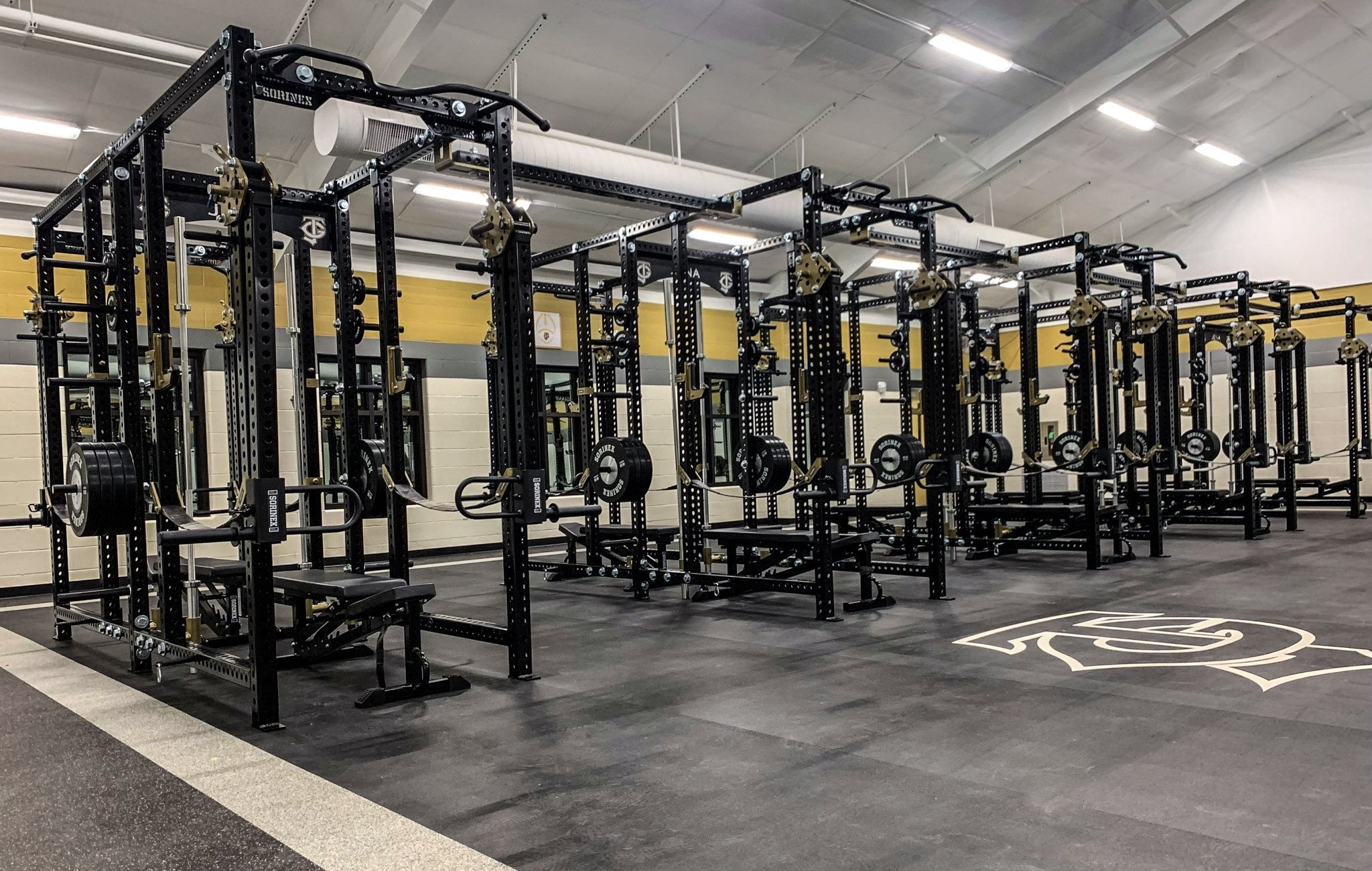Jena High School Base Camp Double Full Racks
