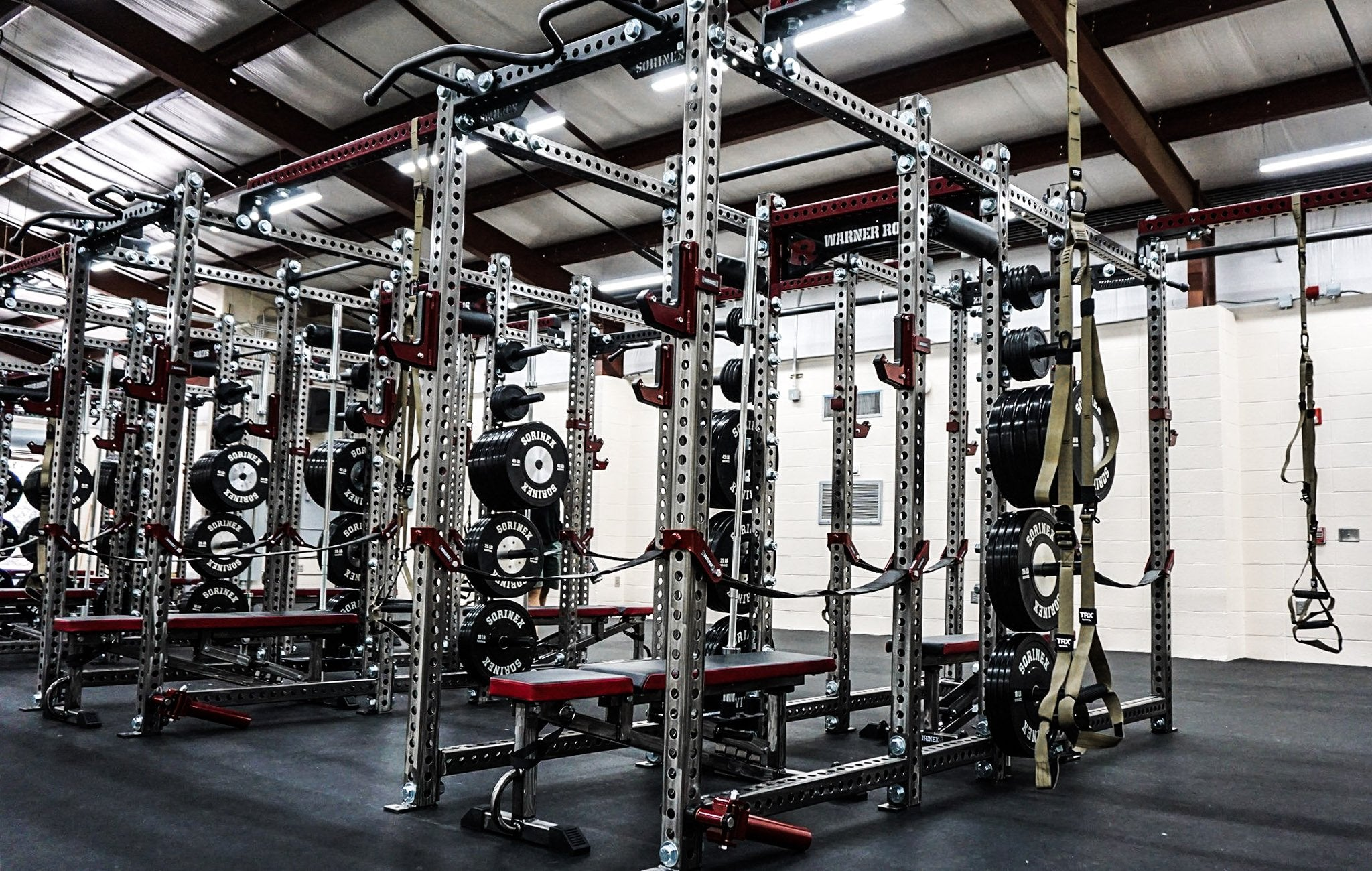 Warner Robins High School Base Camp Double Full Racks