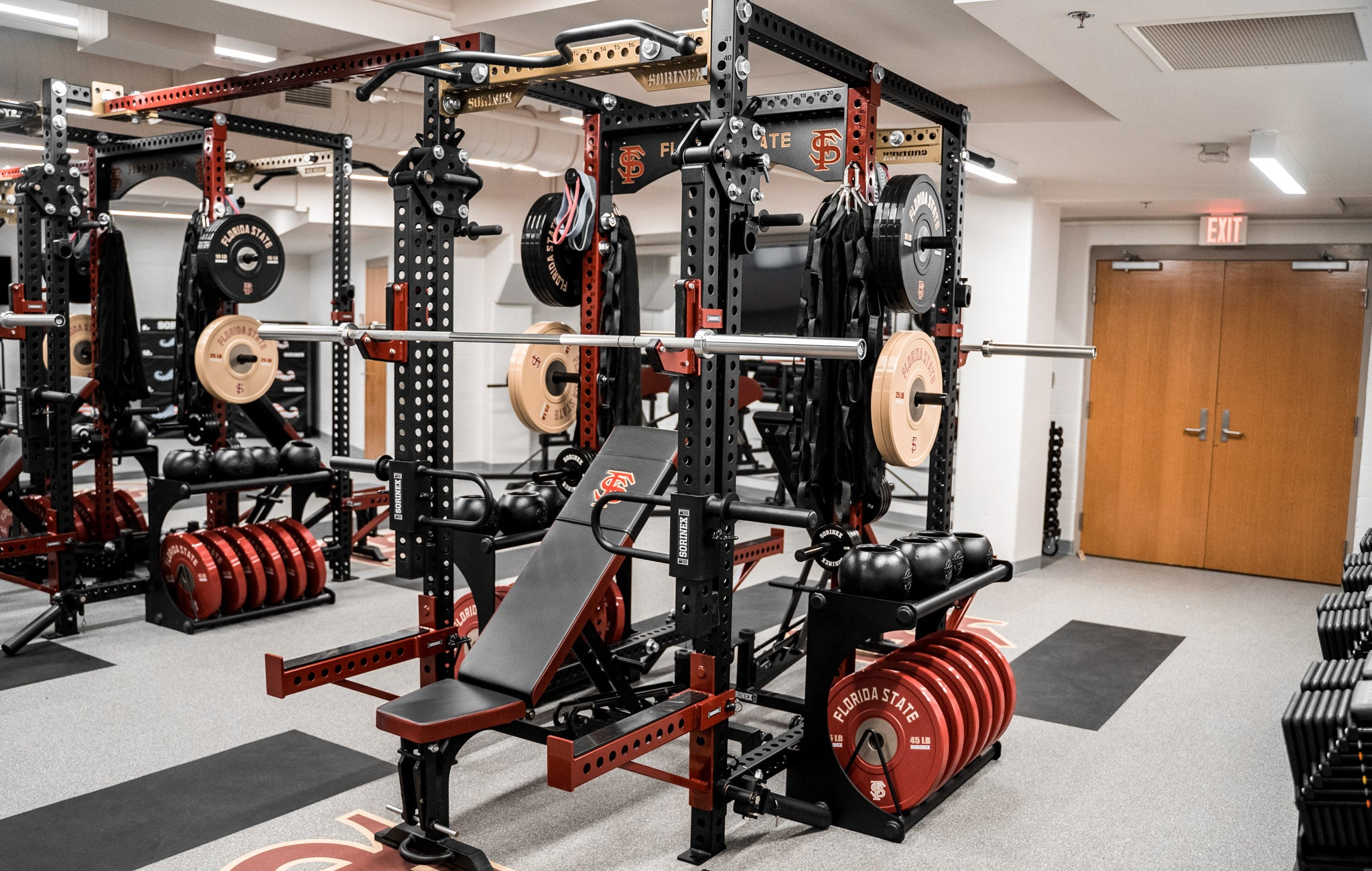 Florida State University Base Camp Double Half Racks