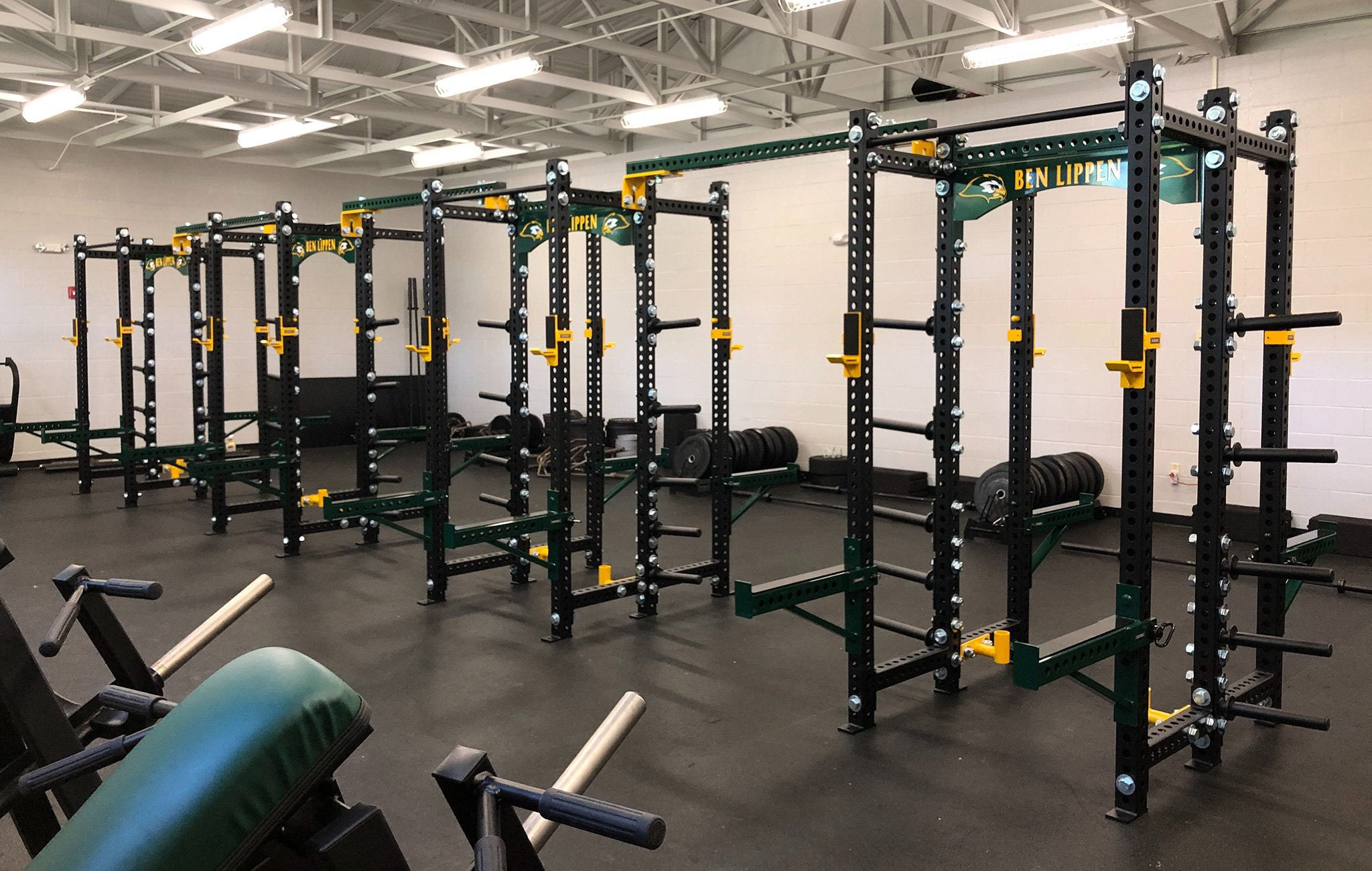 Ben Lippen High School Base Camp Double Half Racks