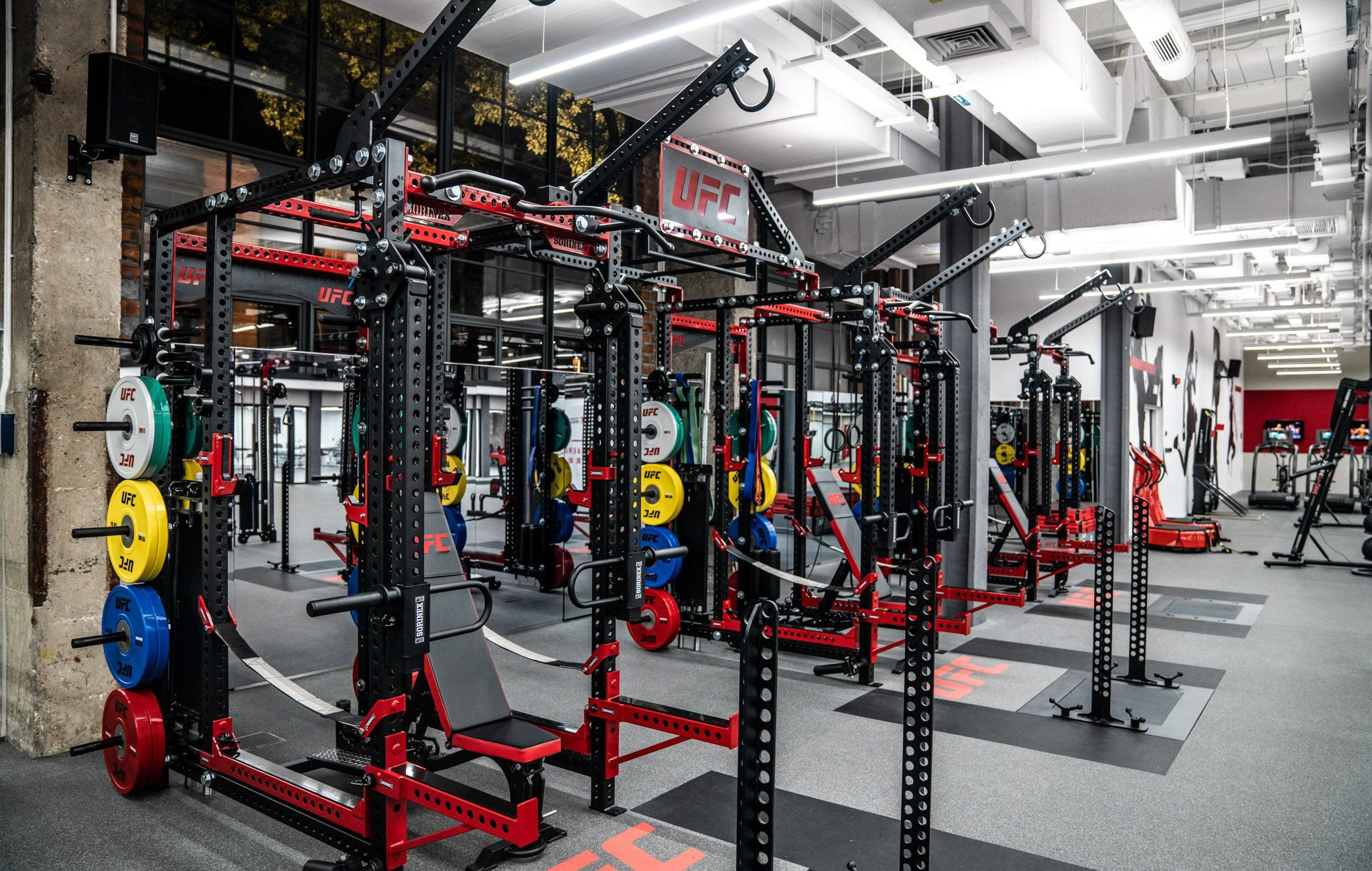 UFC Base Camp Power Rack