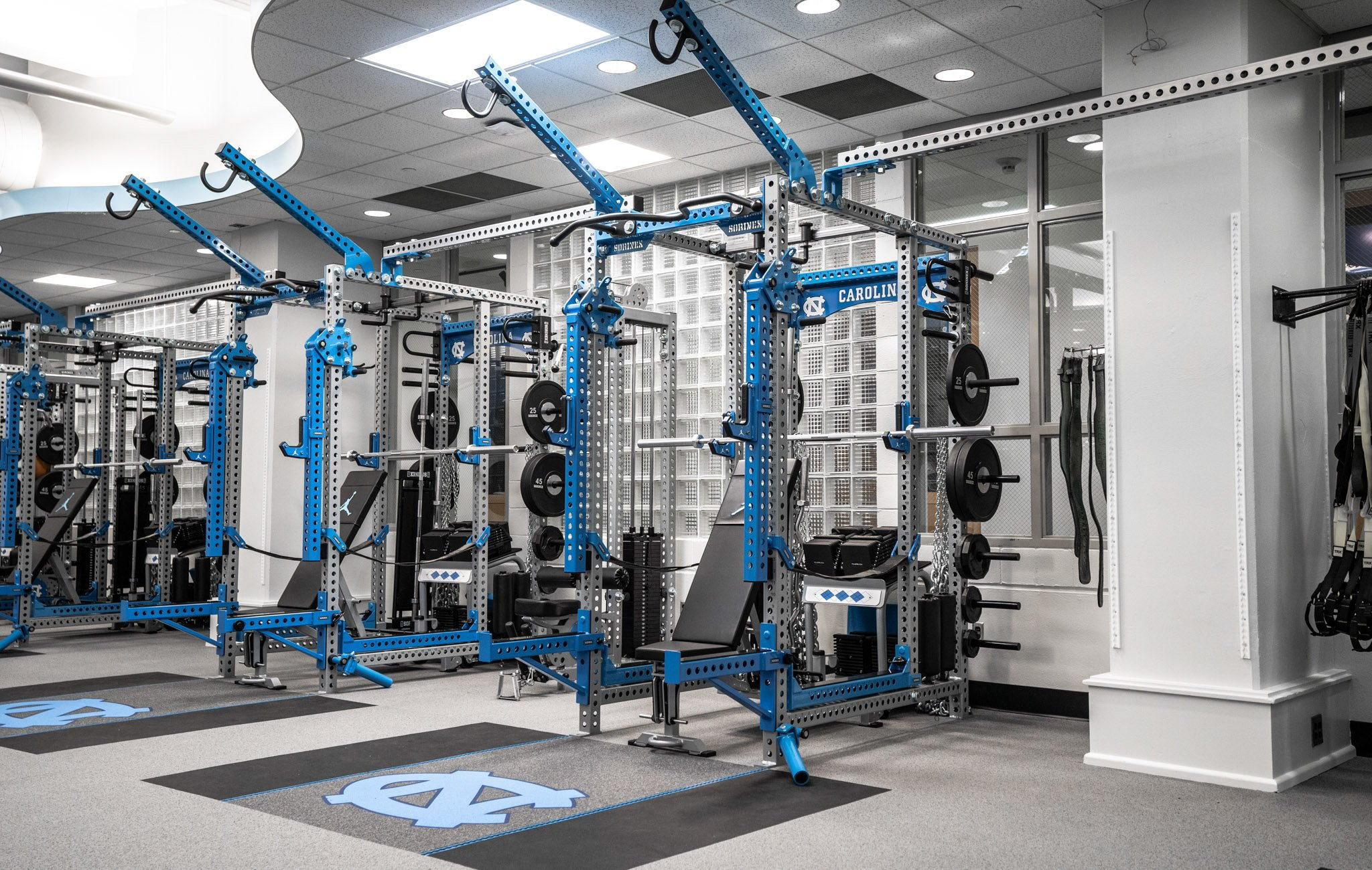 University of North Carolina Base Camp Power Racks