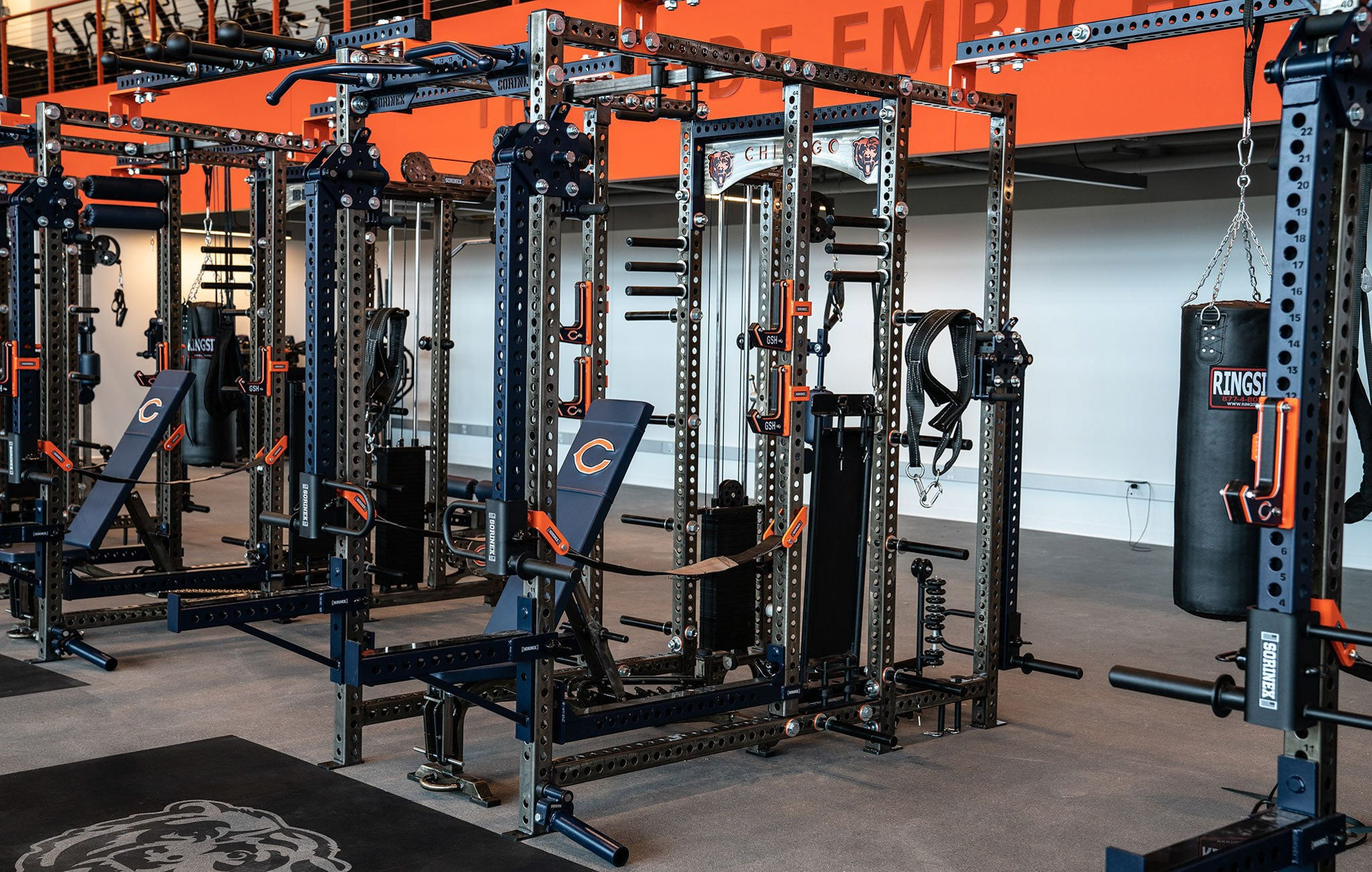 Chicago Bears Base Camp Rack & a Half