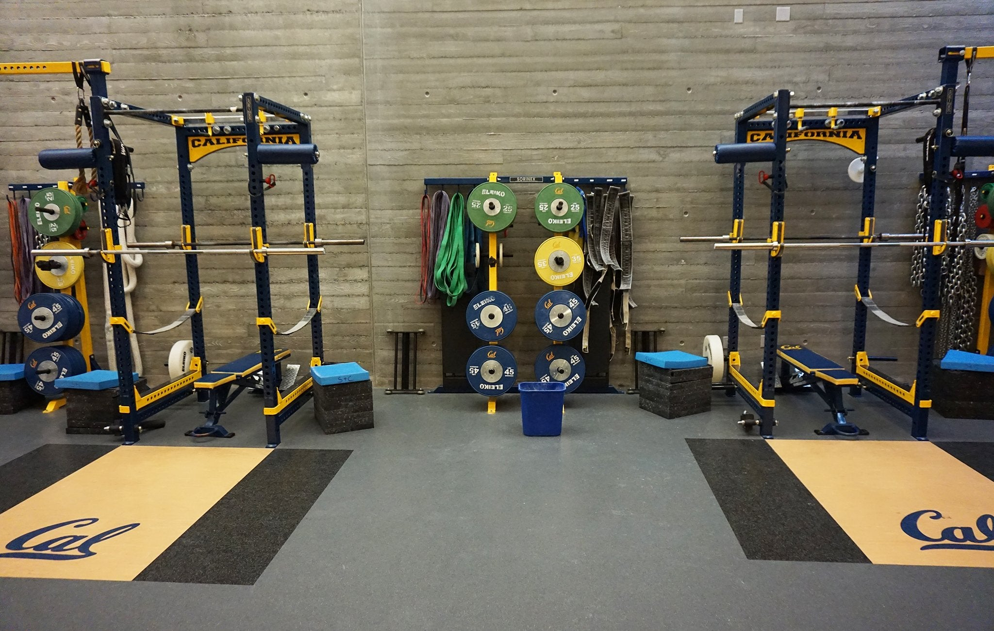 University California Base Camp Half Racks