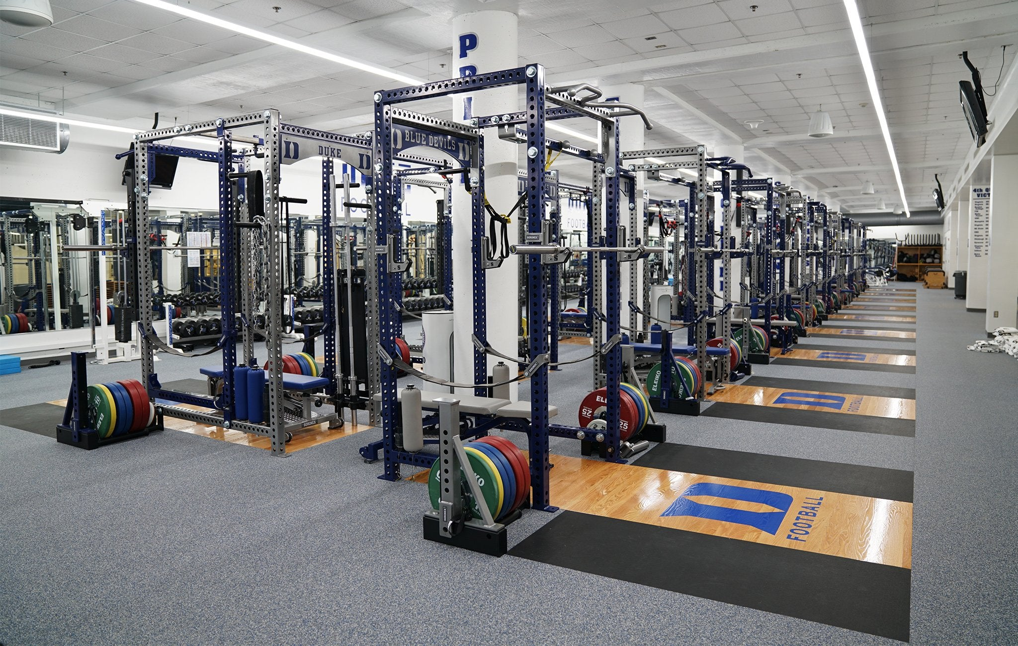 Duke University Base Camp Half Racks