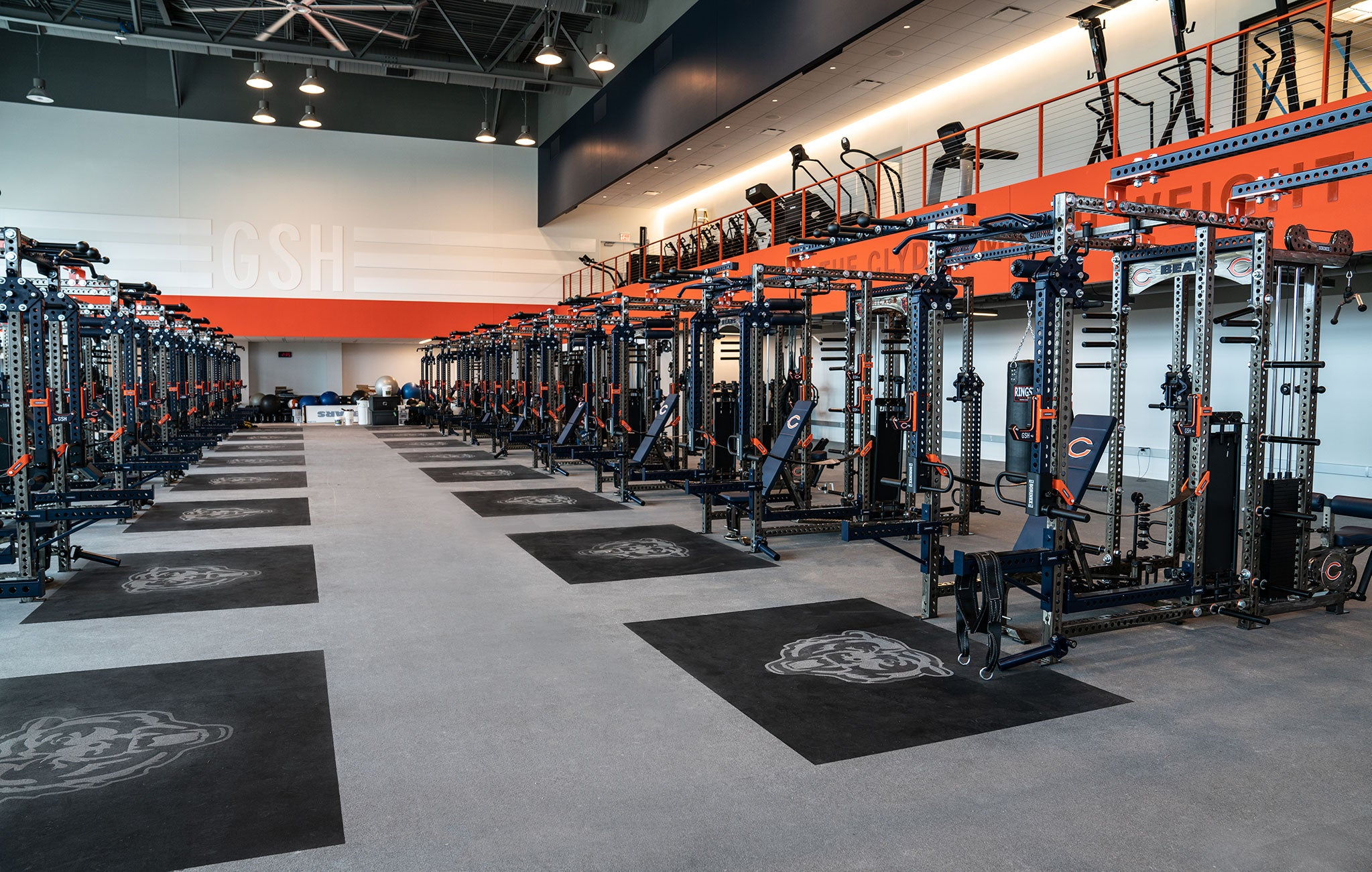 Chicago Bears strength training
