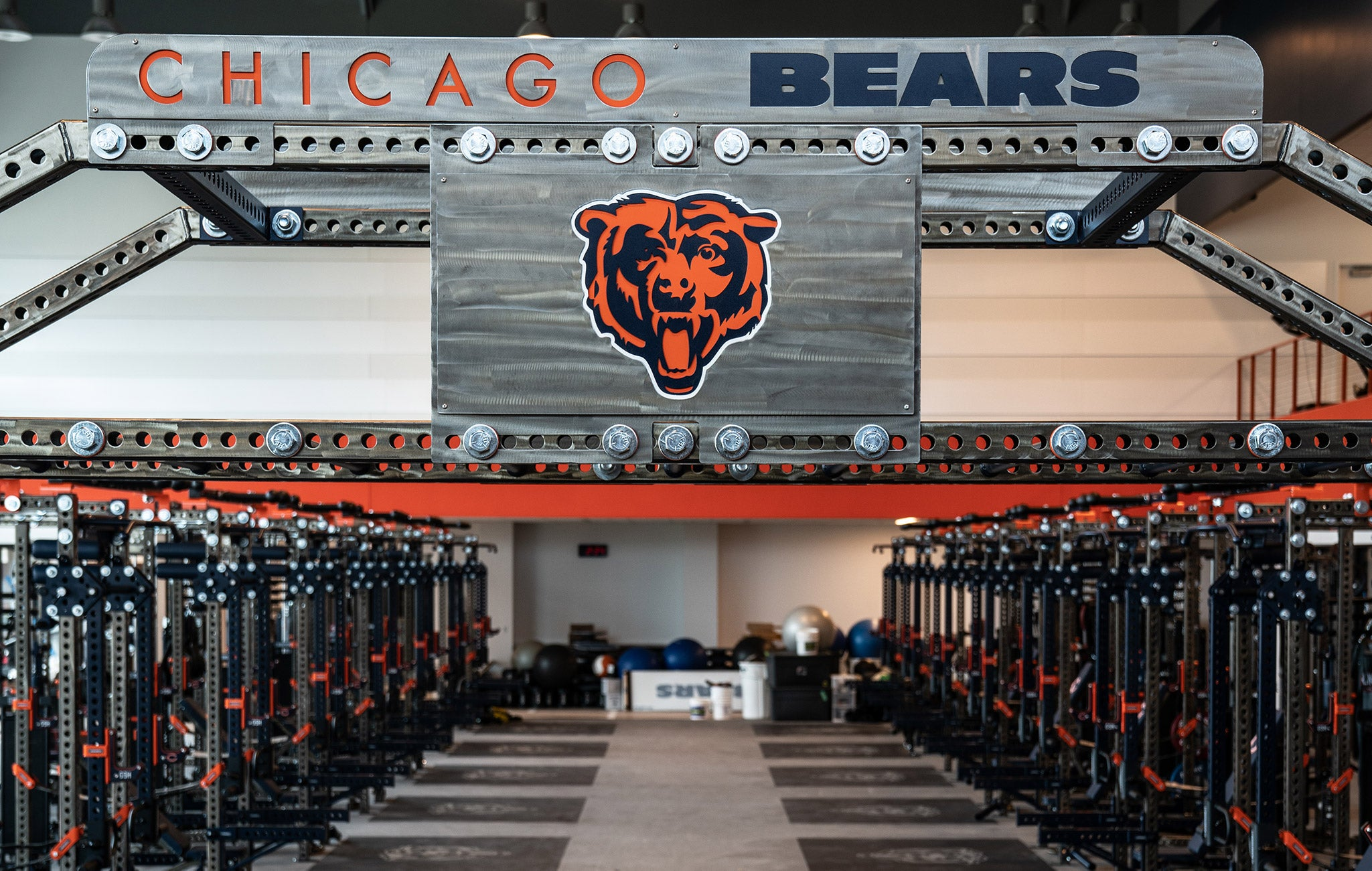 Chicago Bears Weight Room