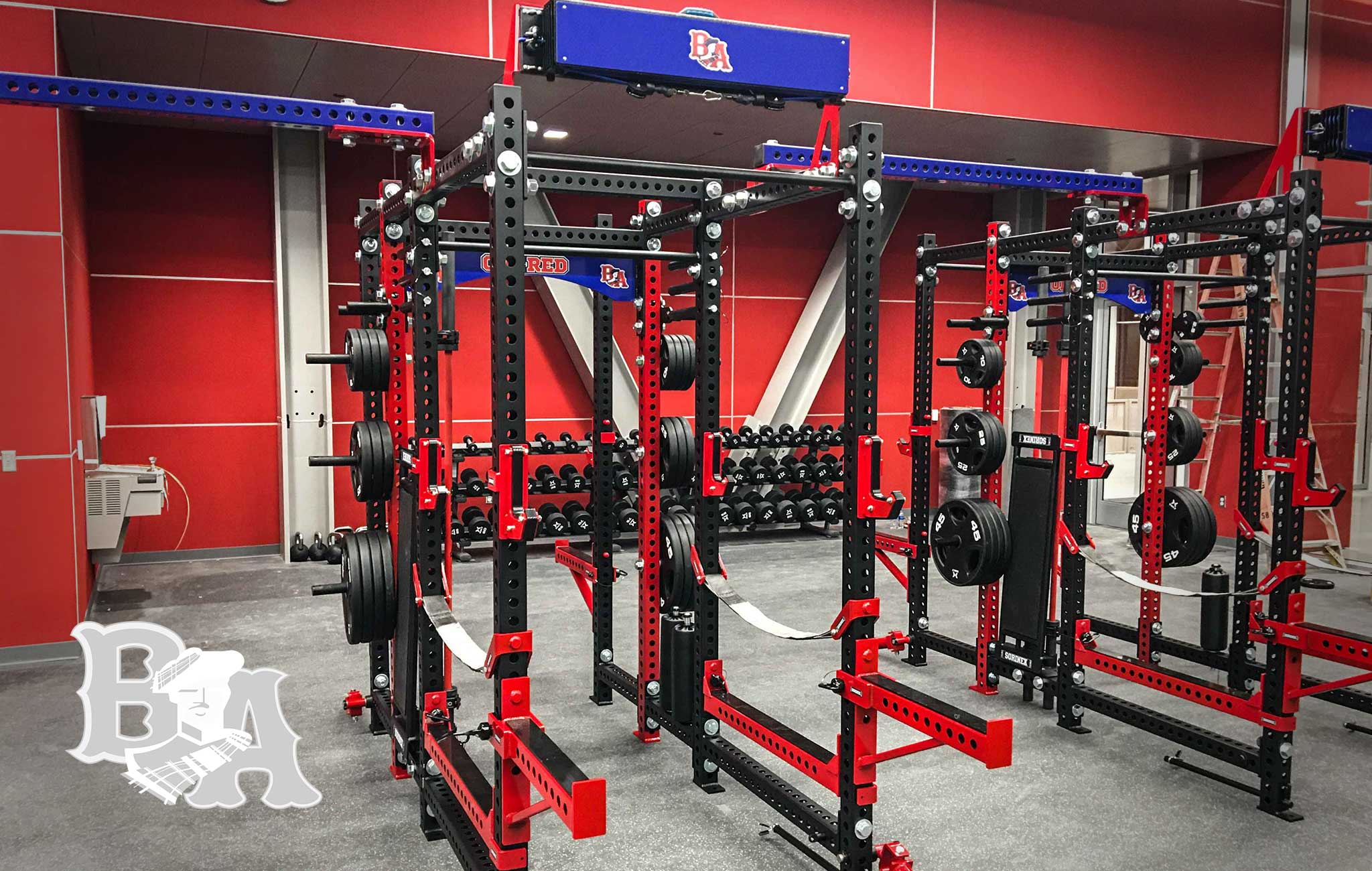 Bel Air High School Sorinex strength and conditioning facility