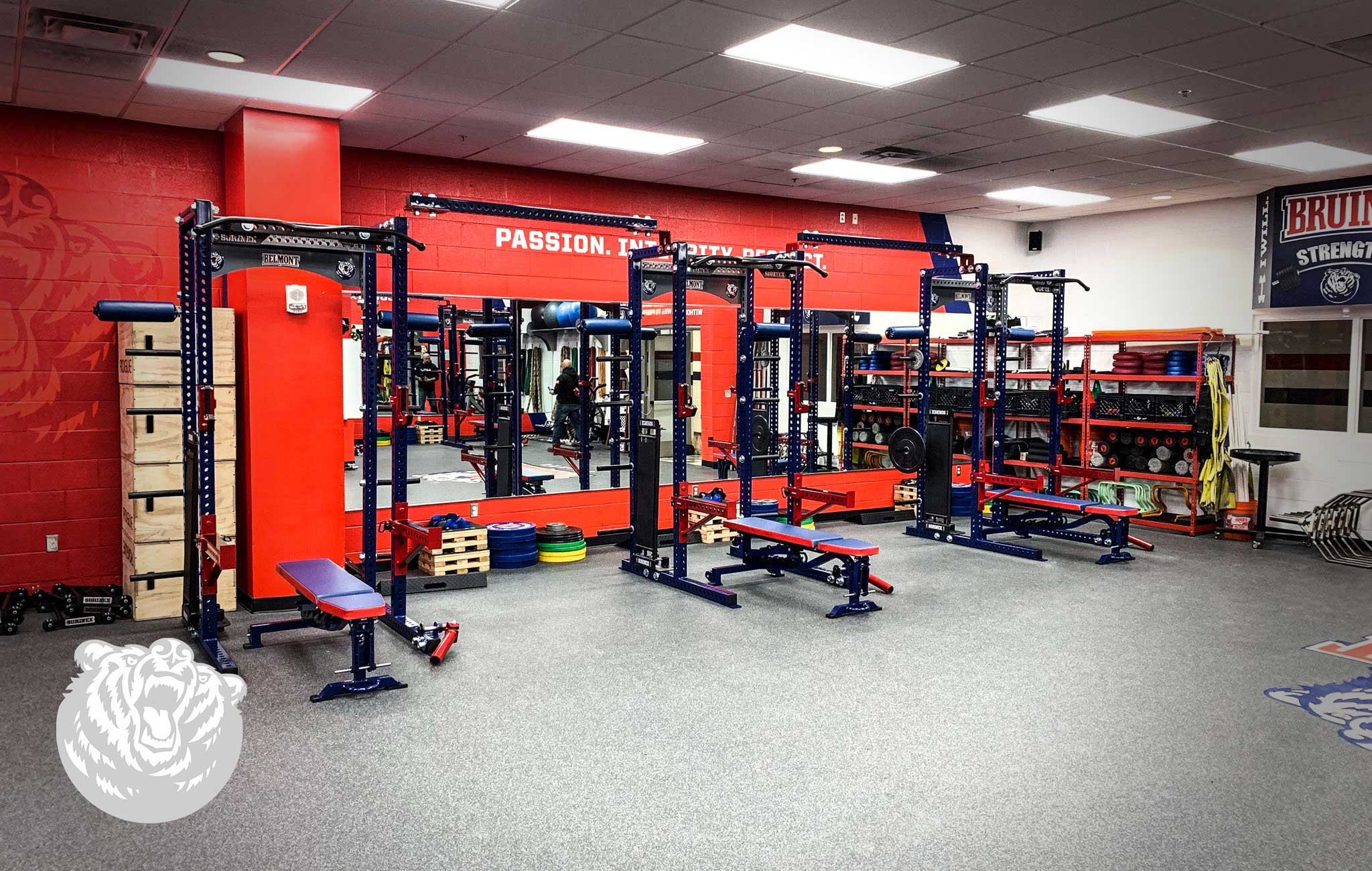 Belmont University Sorinex strength and conditioning facility