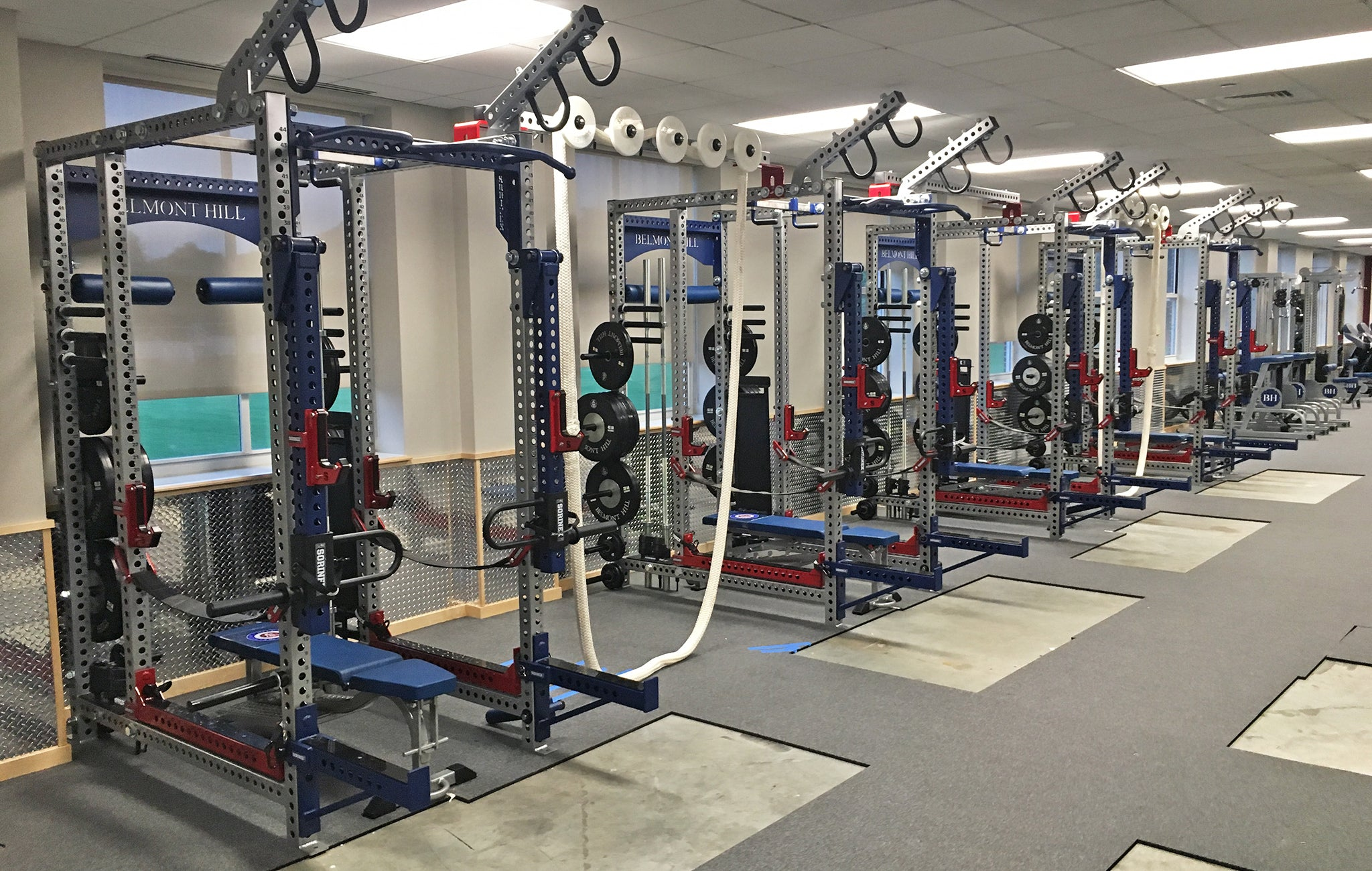 Belmont Hill Weight Room