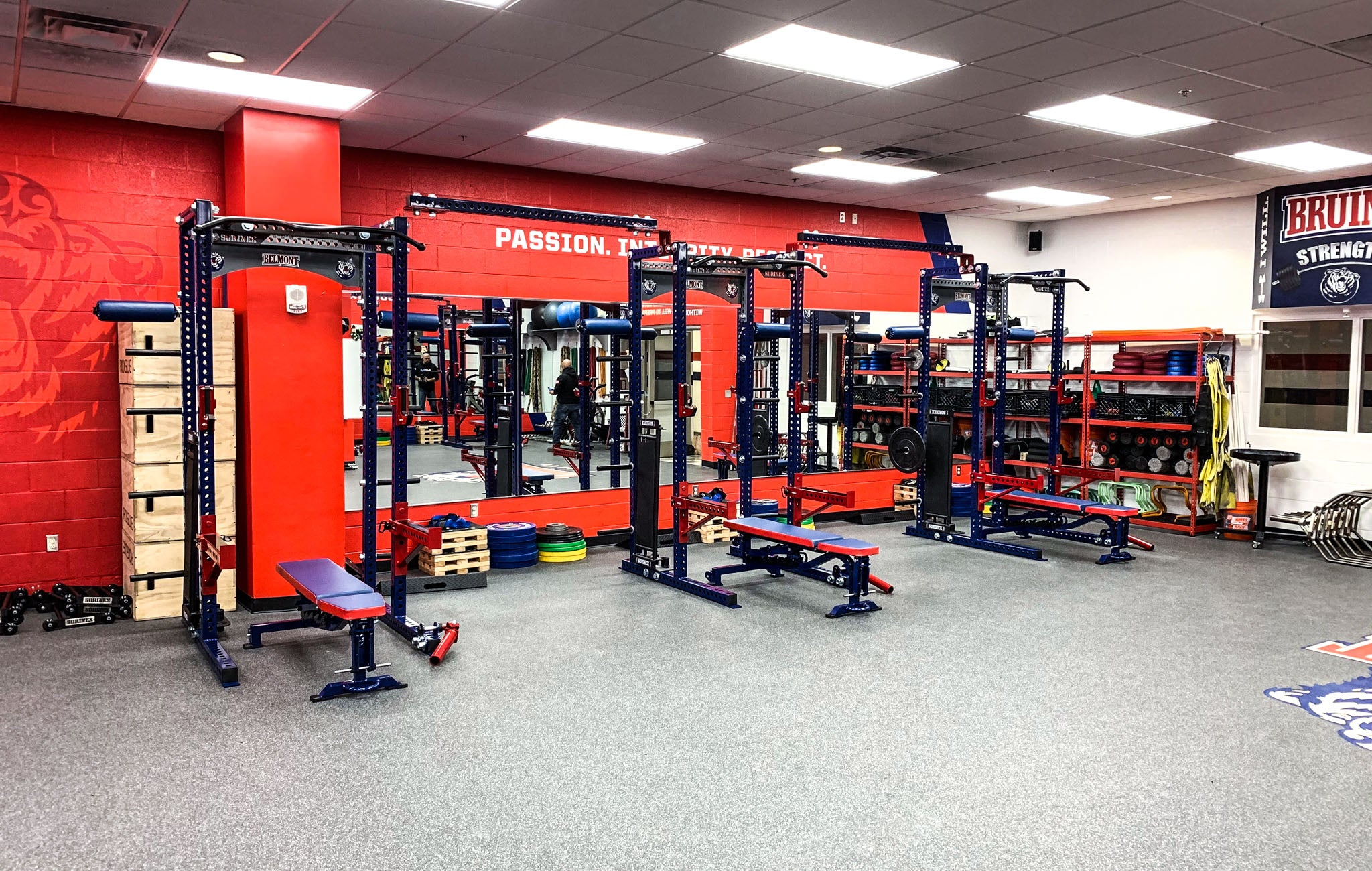 Belmont University strength and conditioning