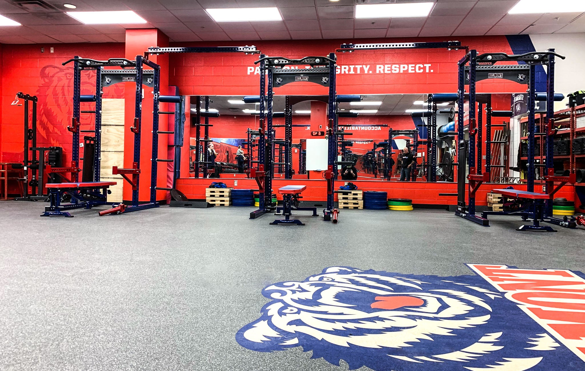 Belmont University Weight Room