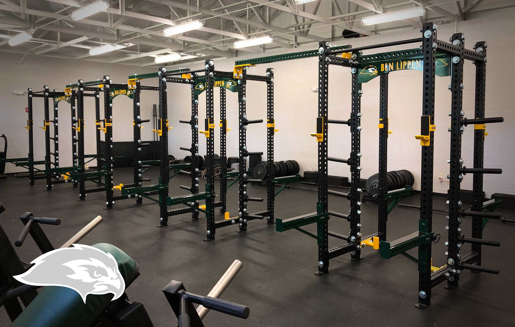 Ben Lippen Sorinex strength and conditioning facility