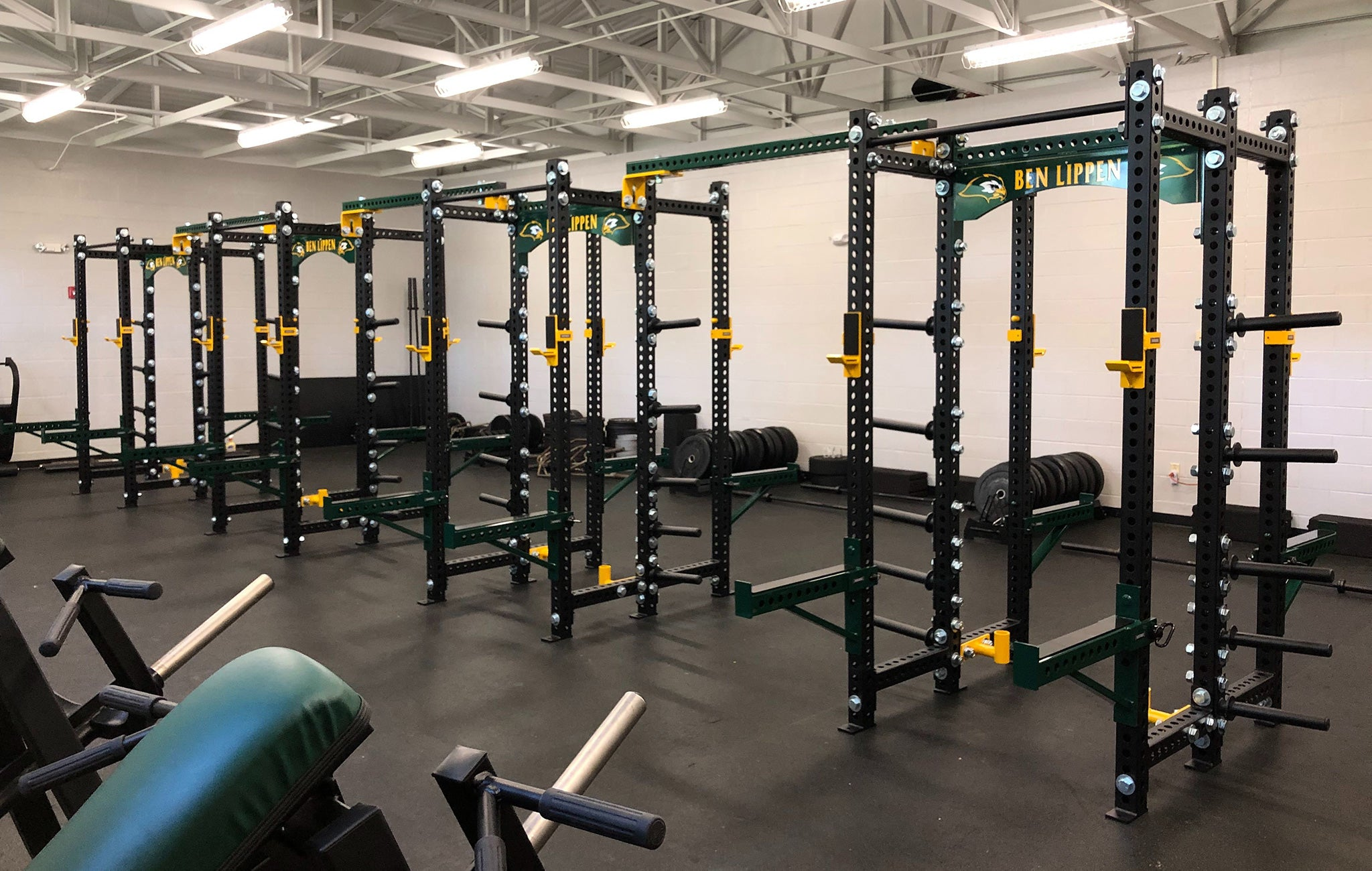 Ben Lippen High School strength and conditioning