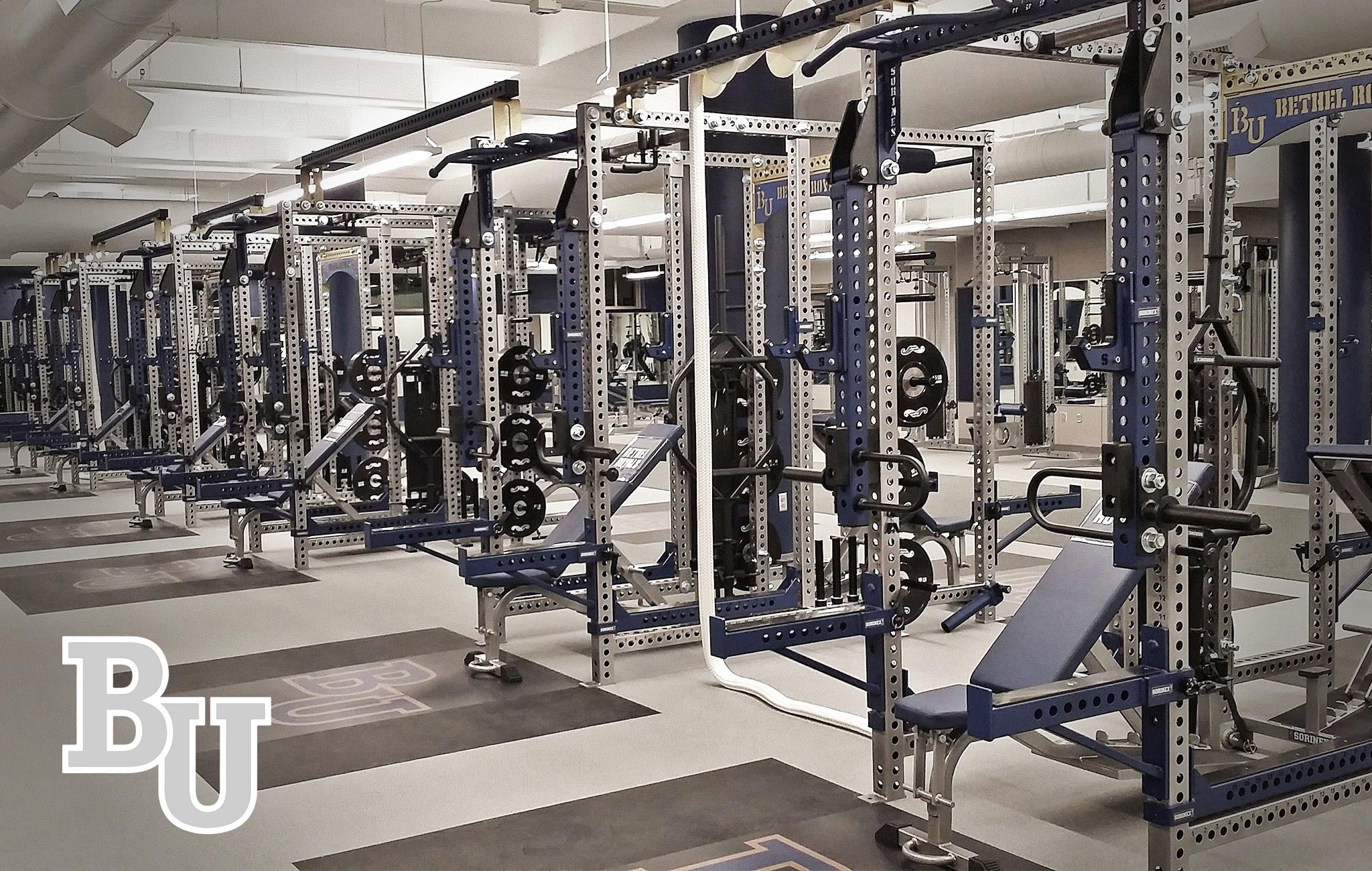 Bethel University Sorinex strength and conditioning facility