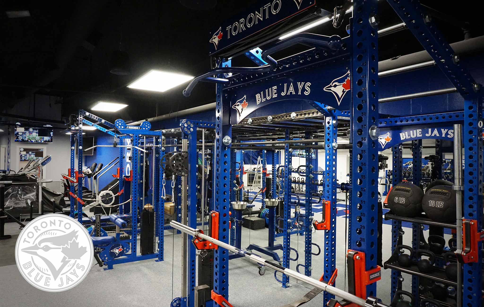 Toronto Blue Jays Sorinex strength and conditioning facility