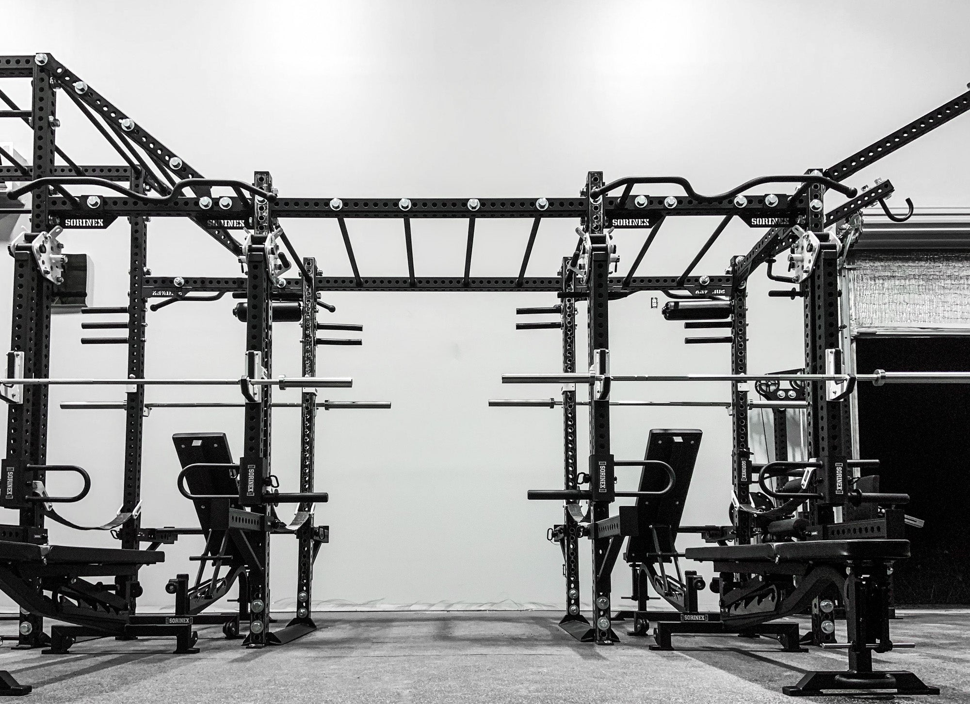 Boombox Academy weight room