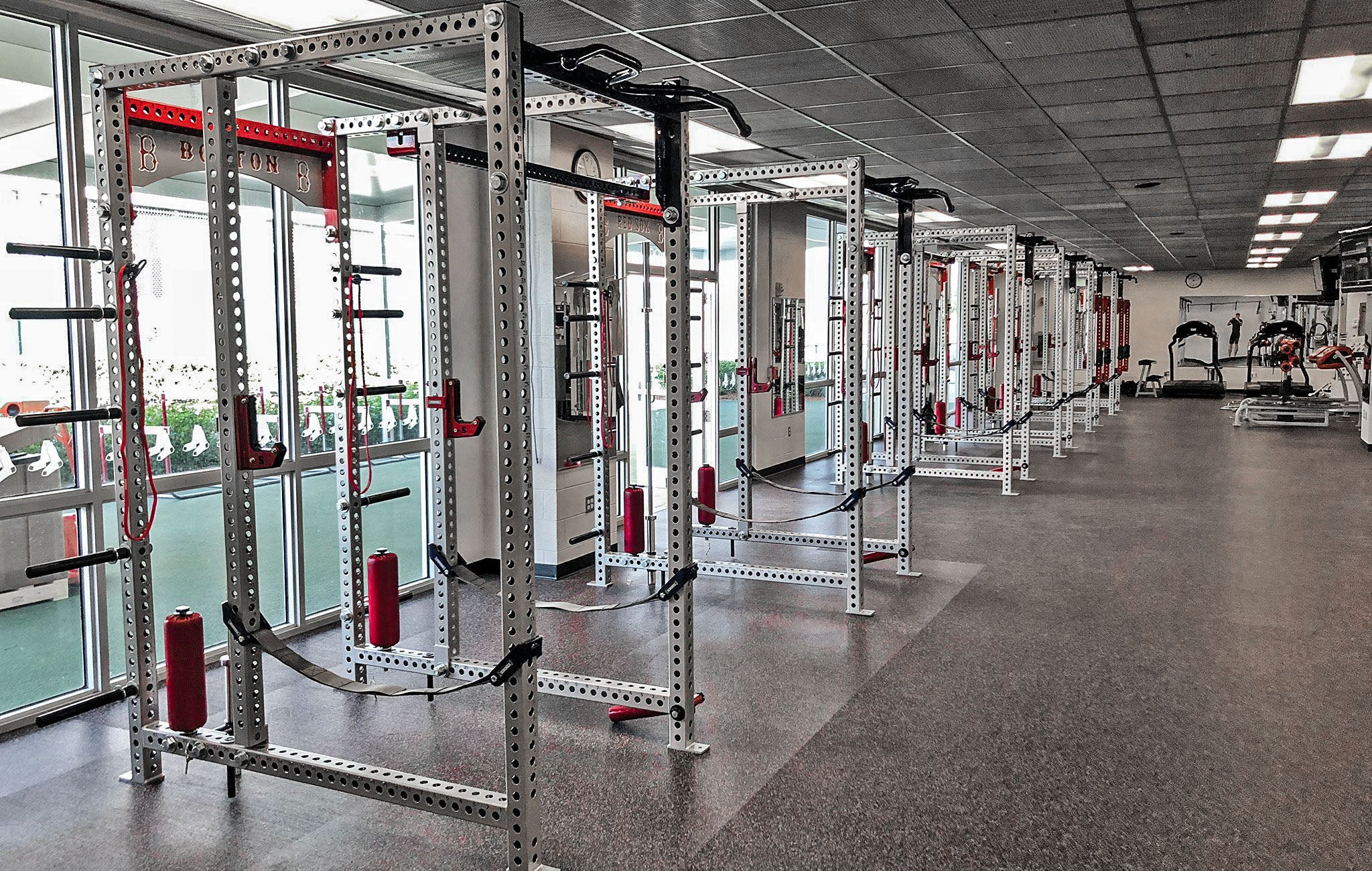 Boston Red Sox Weight Room