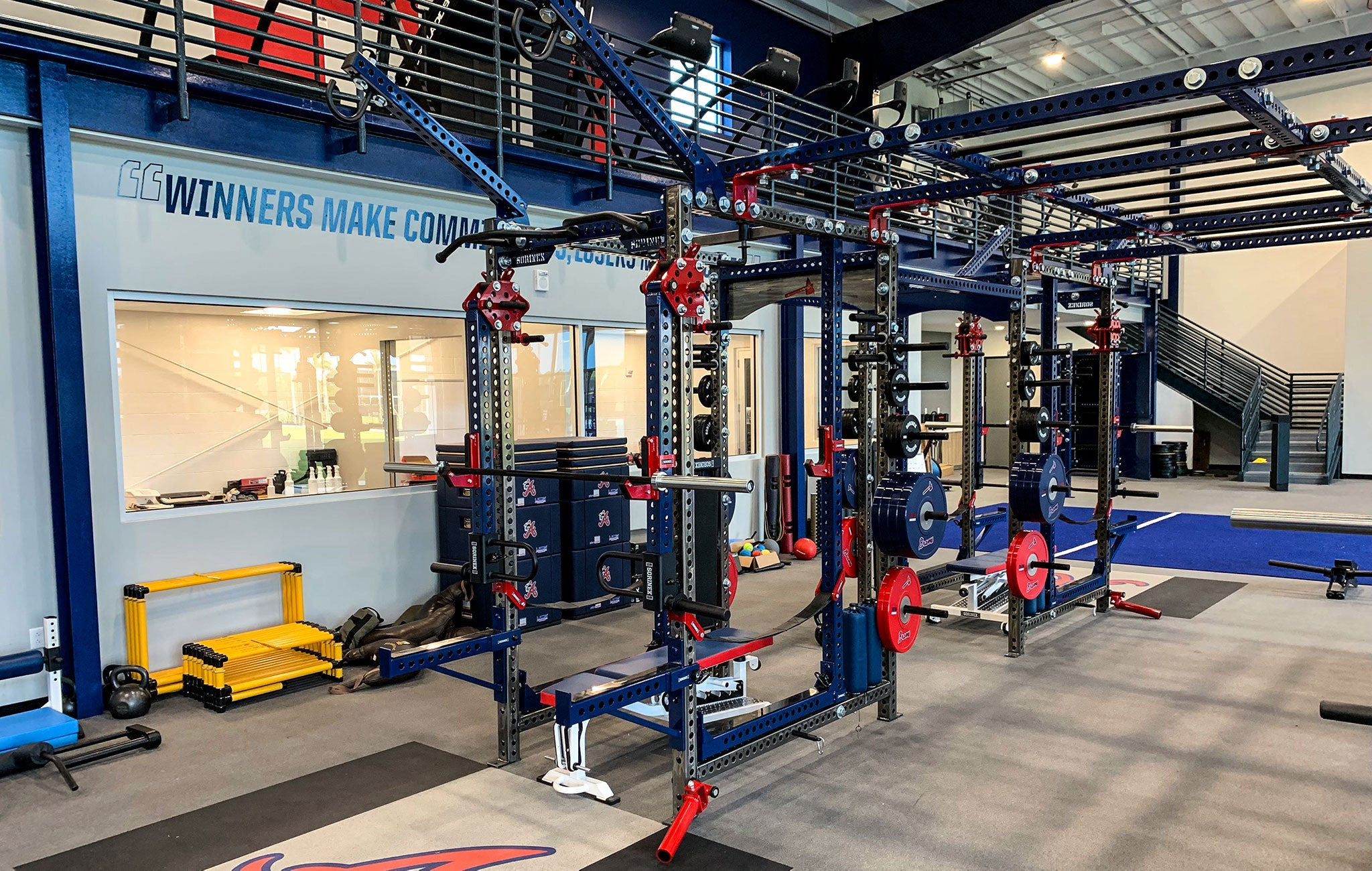 Atlanta Braves strength and conditioning
