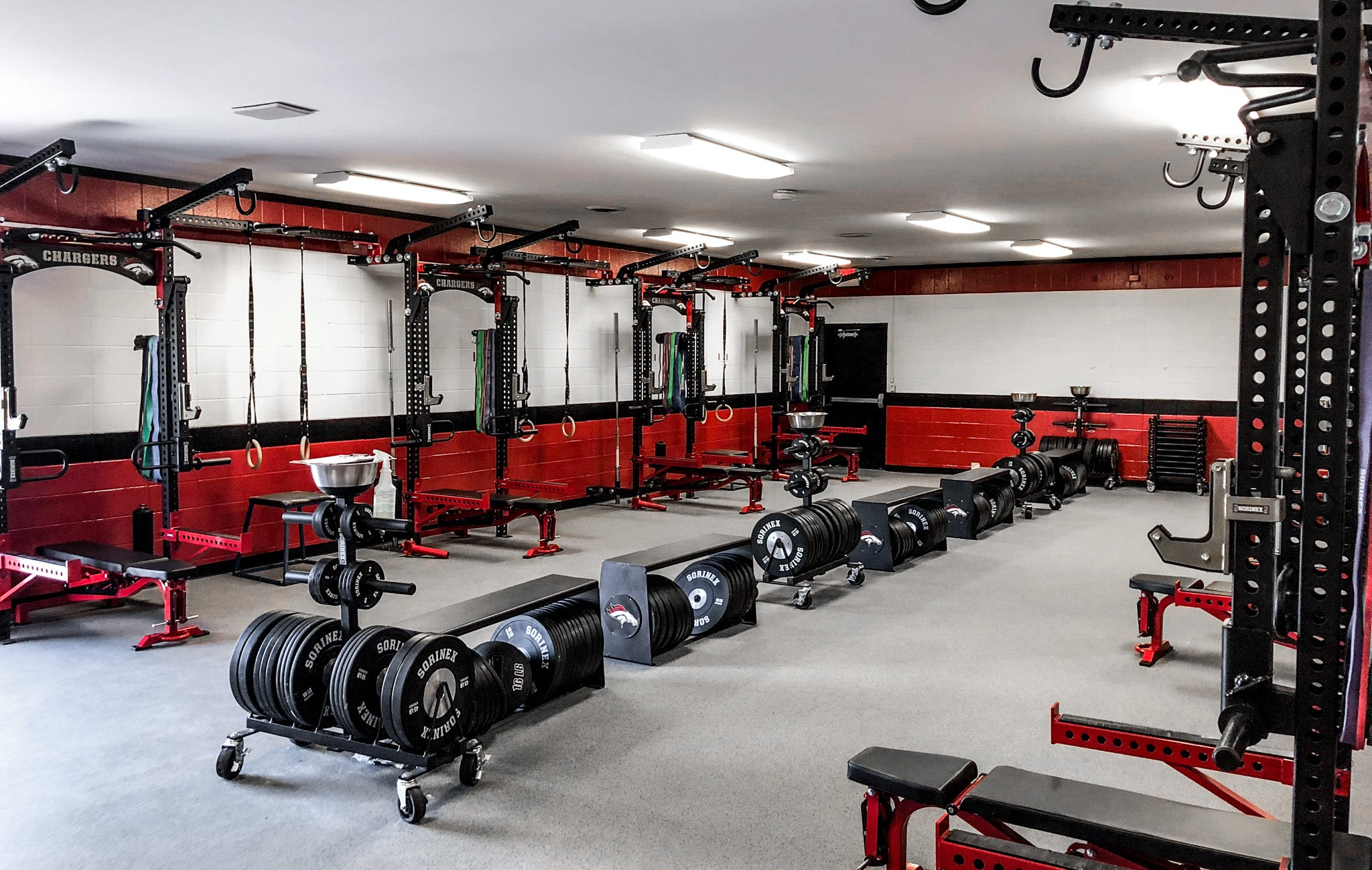 Builtt East High School Weight Room