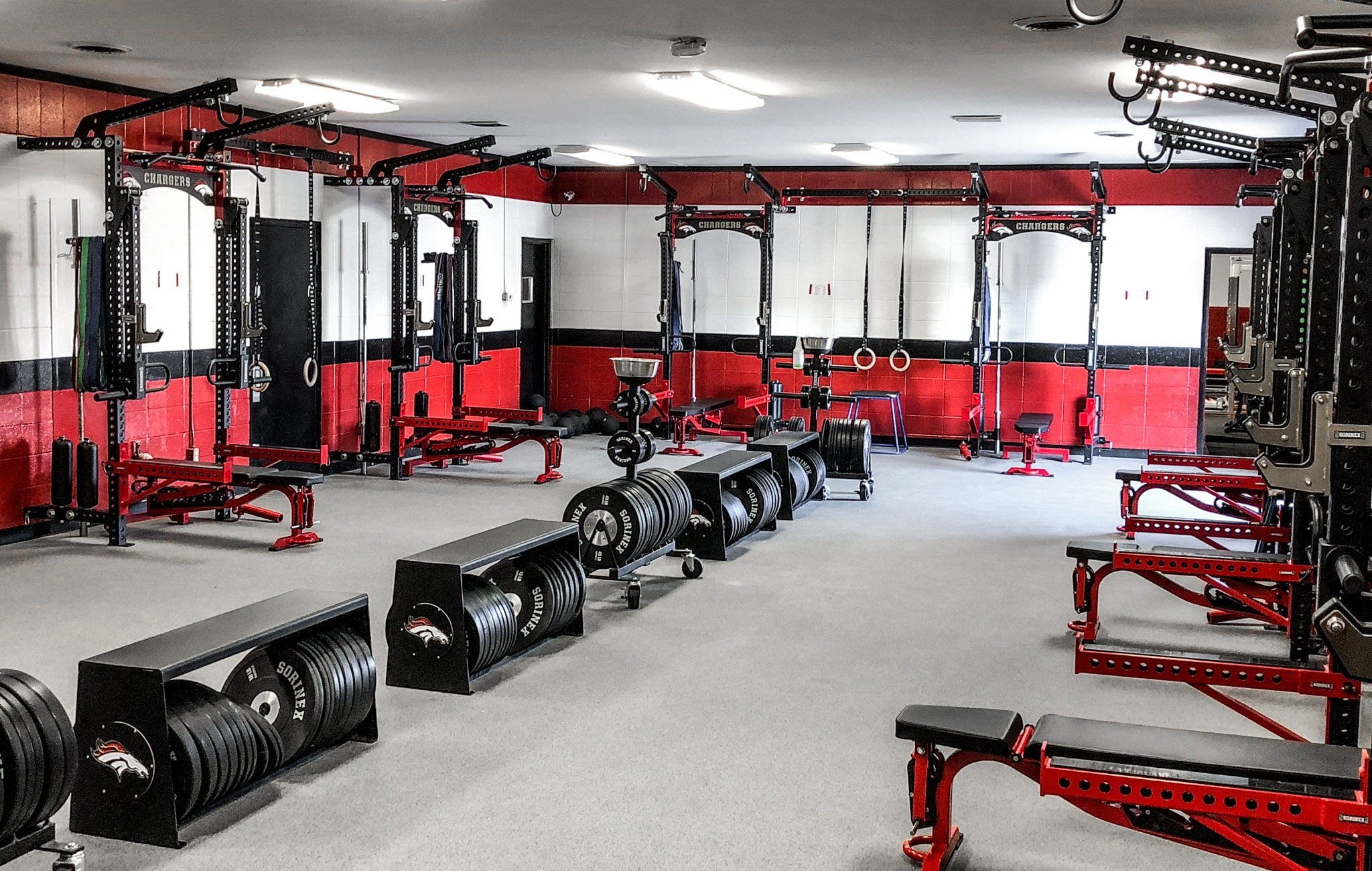 Builtt East High School strength and conditioning