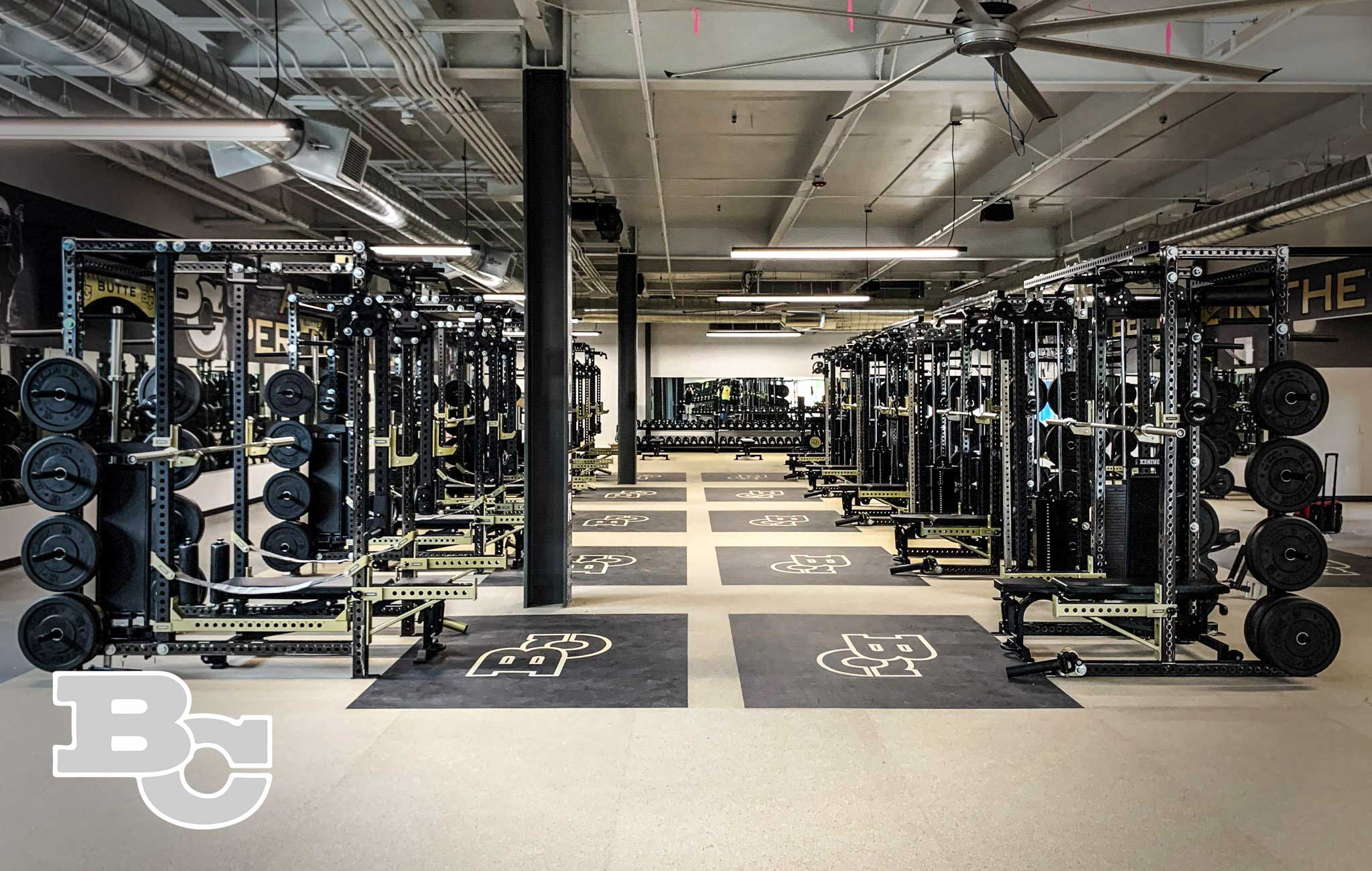 Butte Community College Sorinex strength and conditioning facility