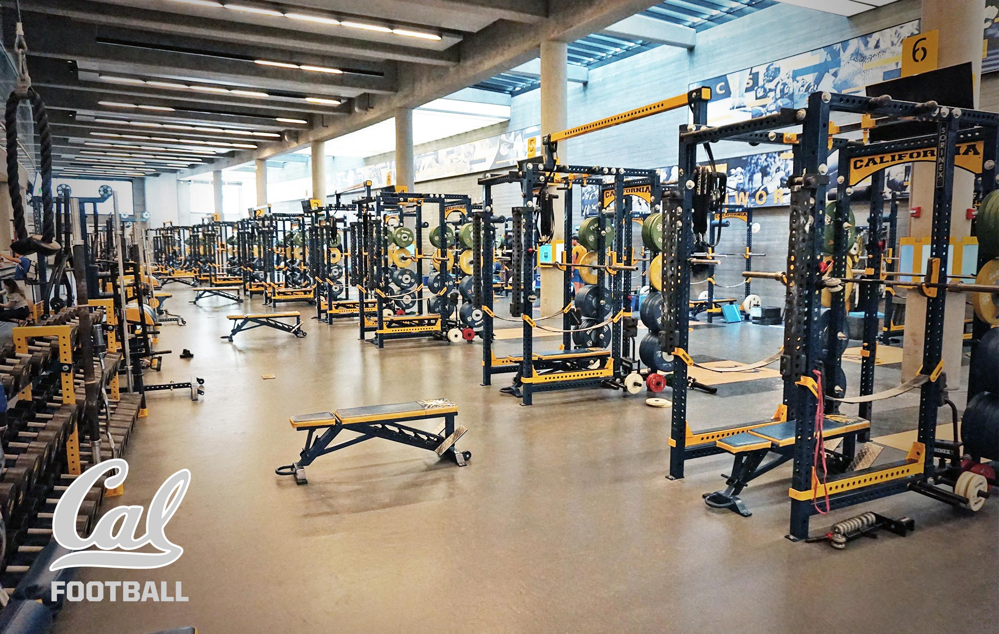 University of california football Sorinex strength and conditioning facility