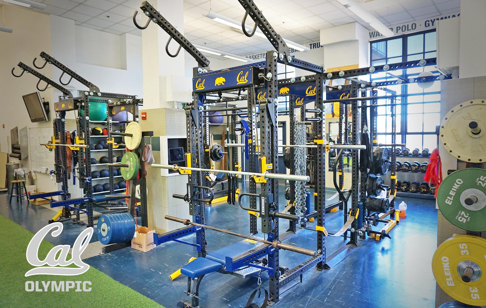 University of california olympic Sorinex strength and conditioning facility