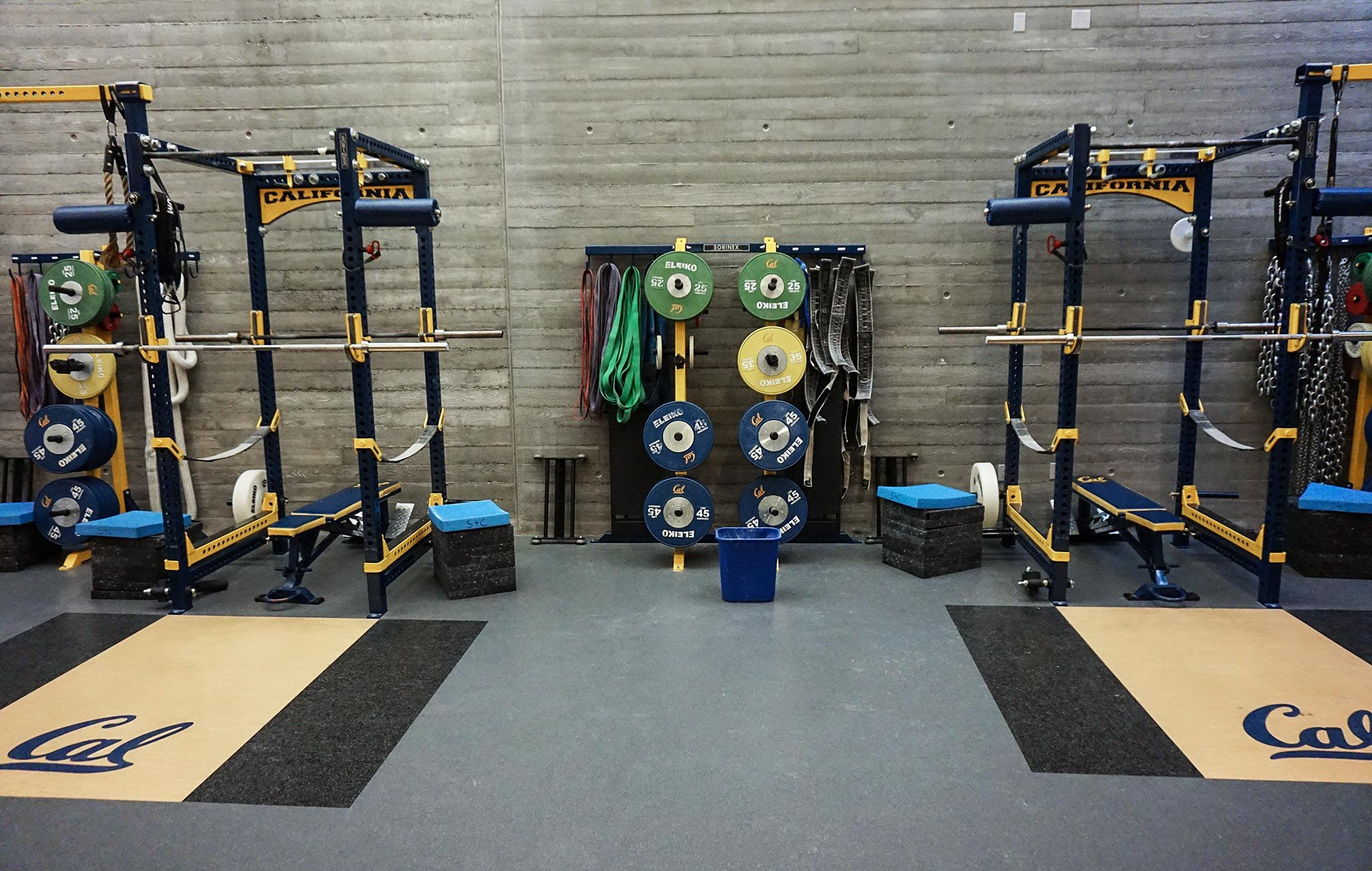 University of California Football strength and conditioning