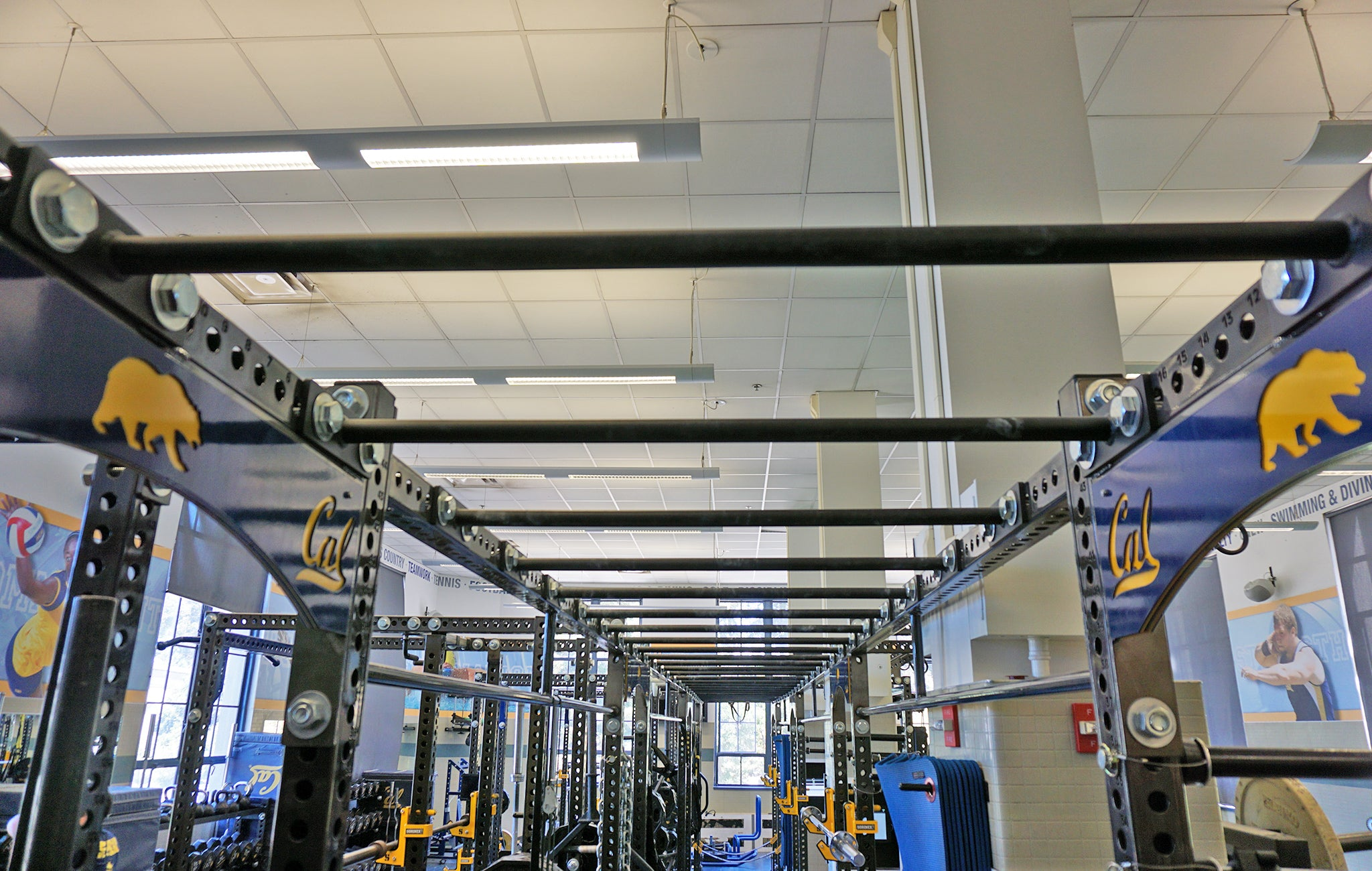 college weight rooms