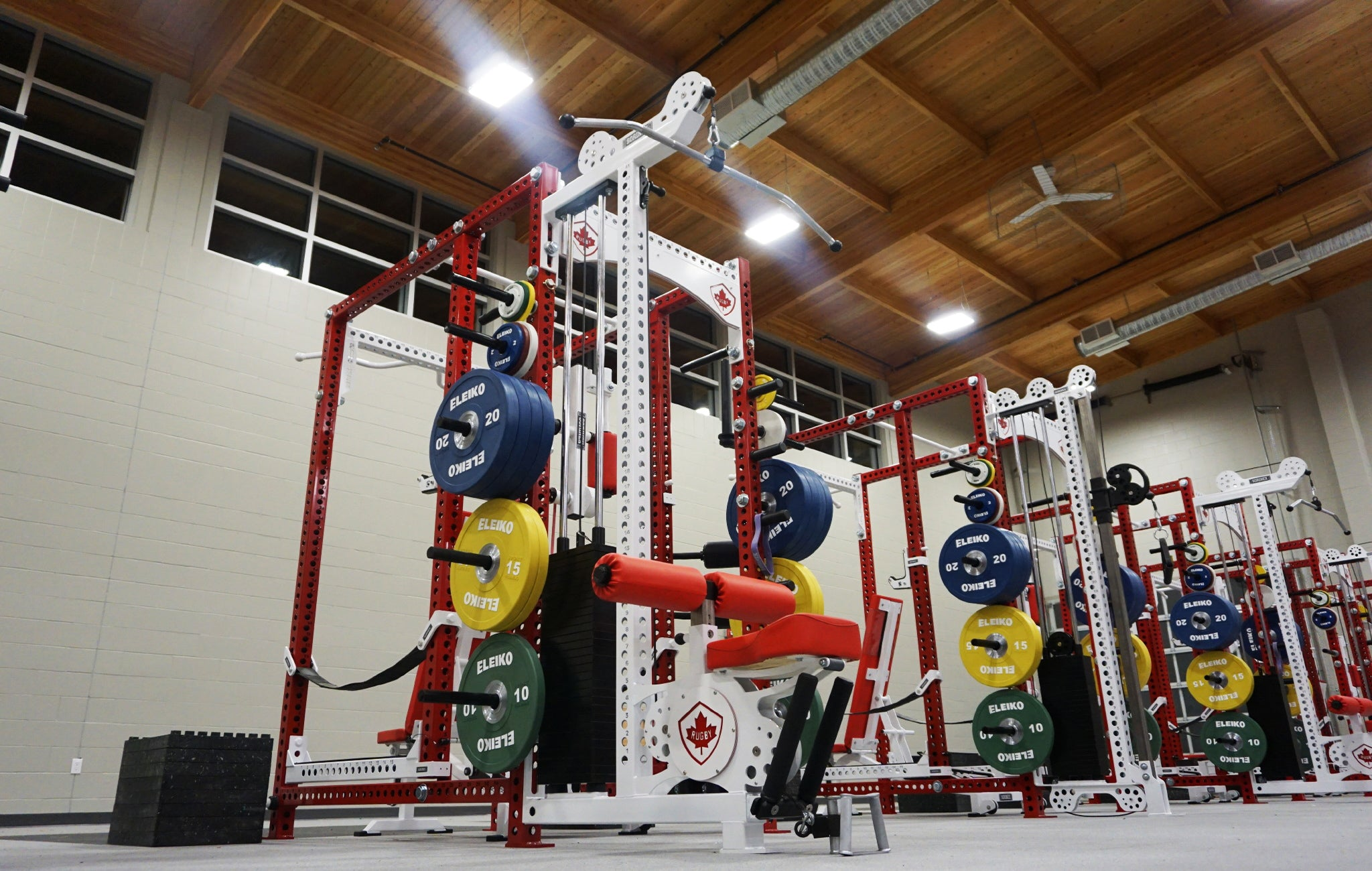 professional rugby weight rooms
