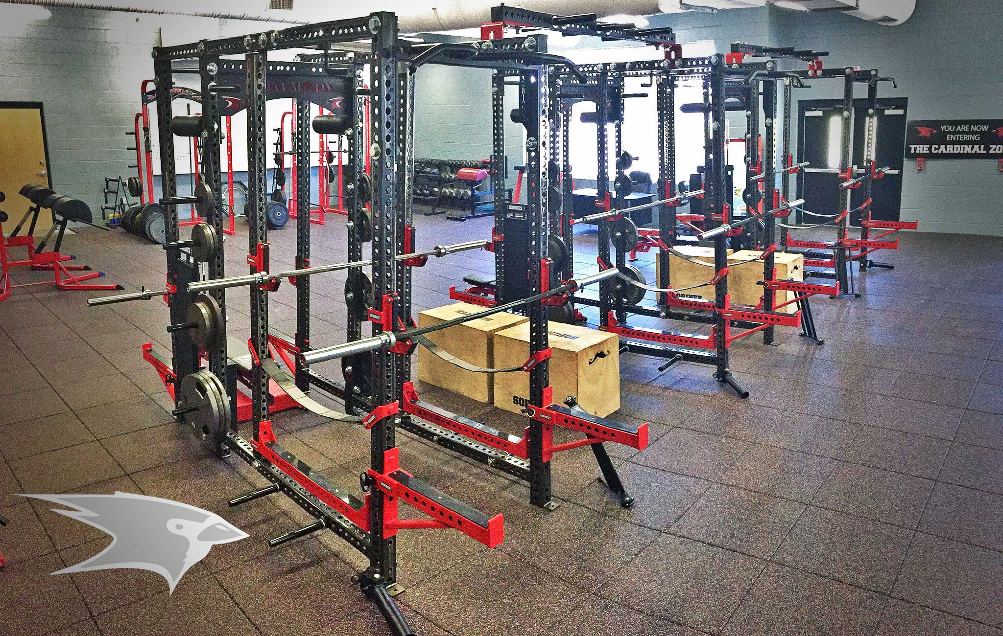 Cardinal Newman high school Sorinex strength and conditioning facility