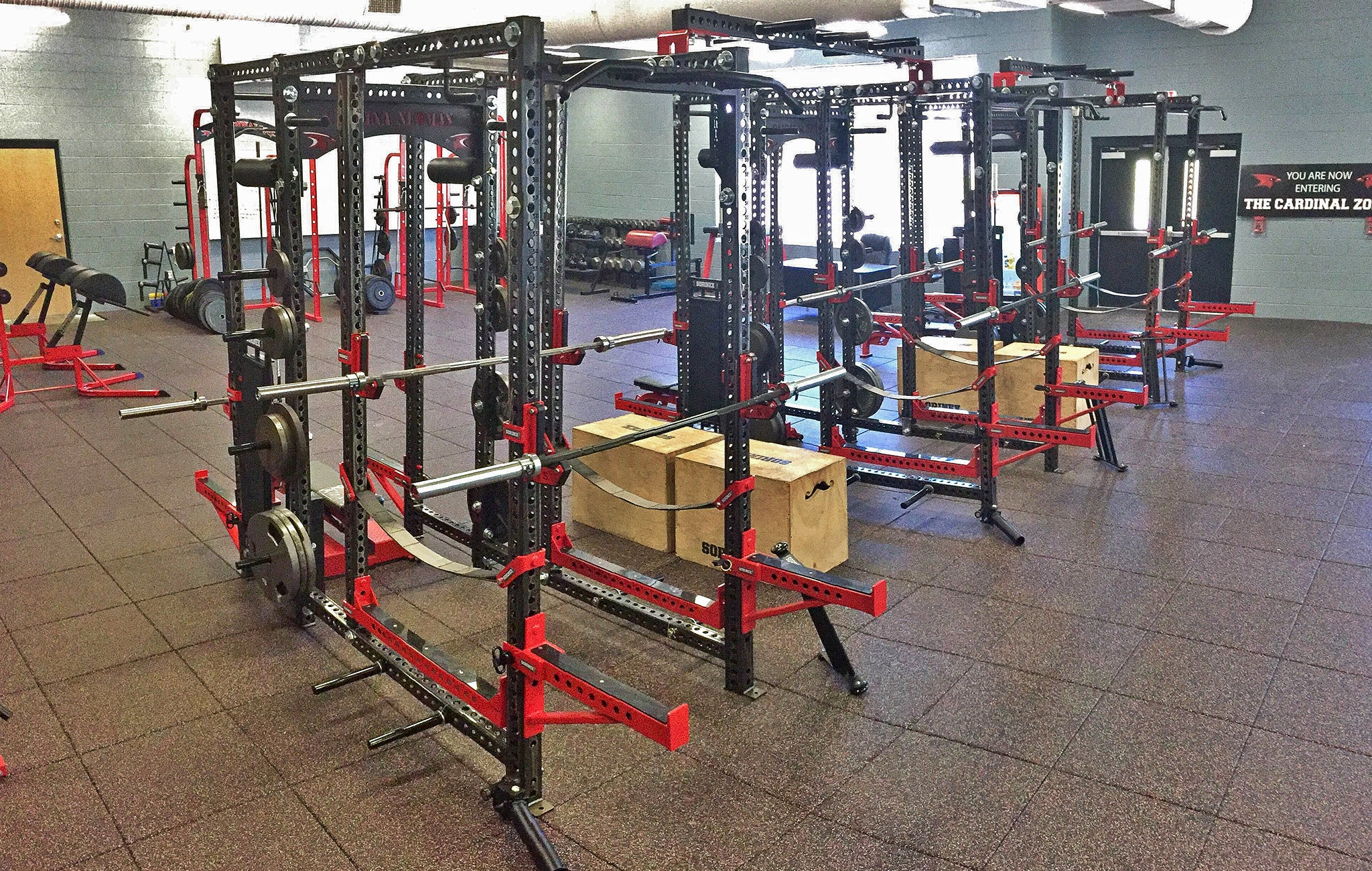 Cardinal Newman High School Weight Room