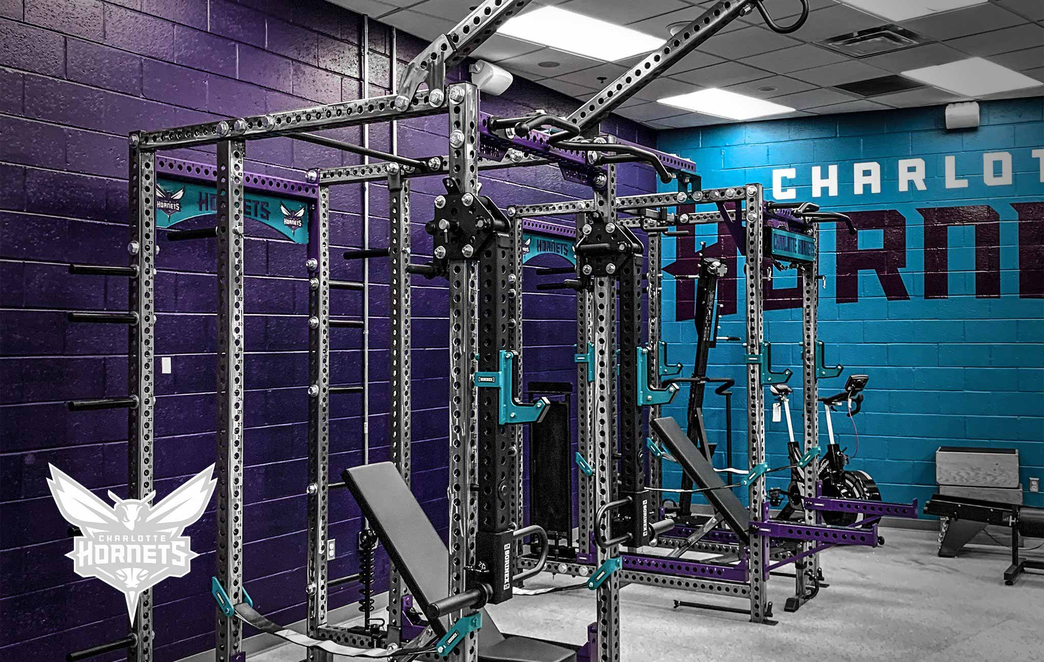Charlotte Hornets Sorinex strength and conditioning facility