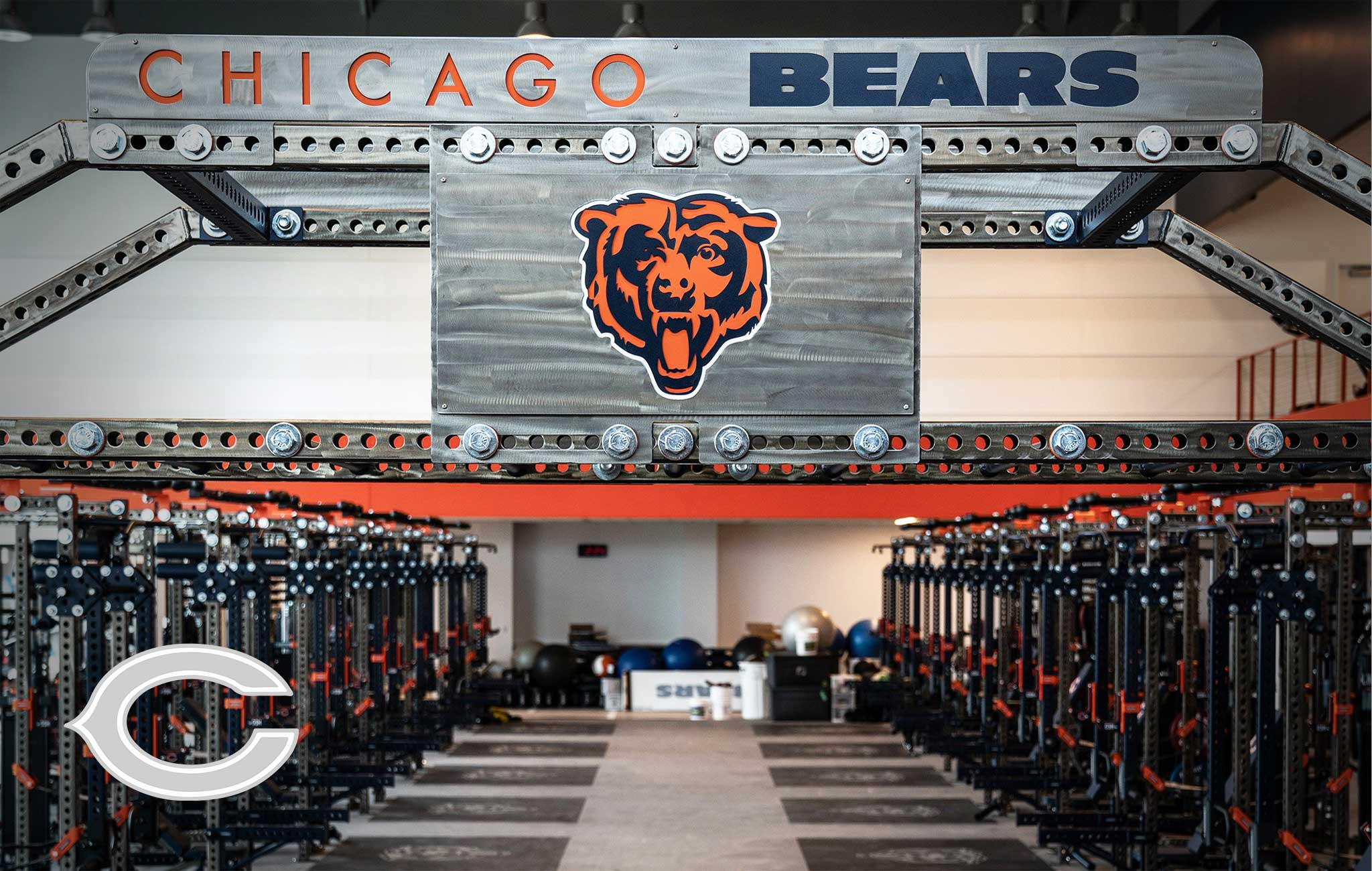 Chicago Bears Sorinex strength and conditioning facility