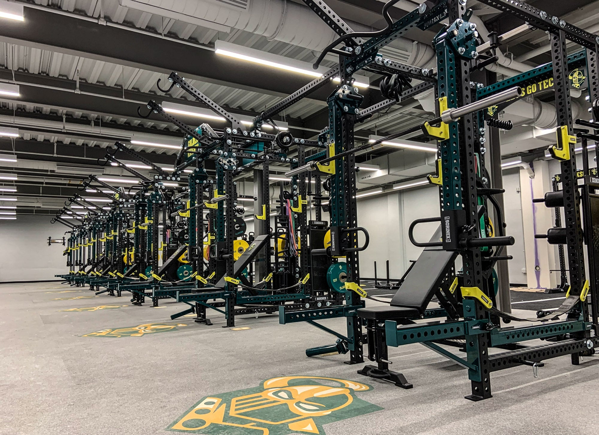 Clarkson University Weight Room