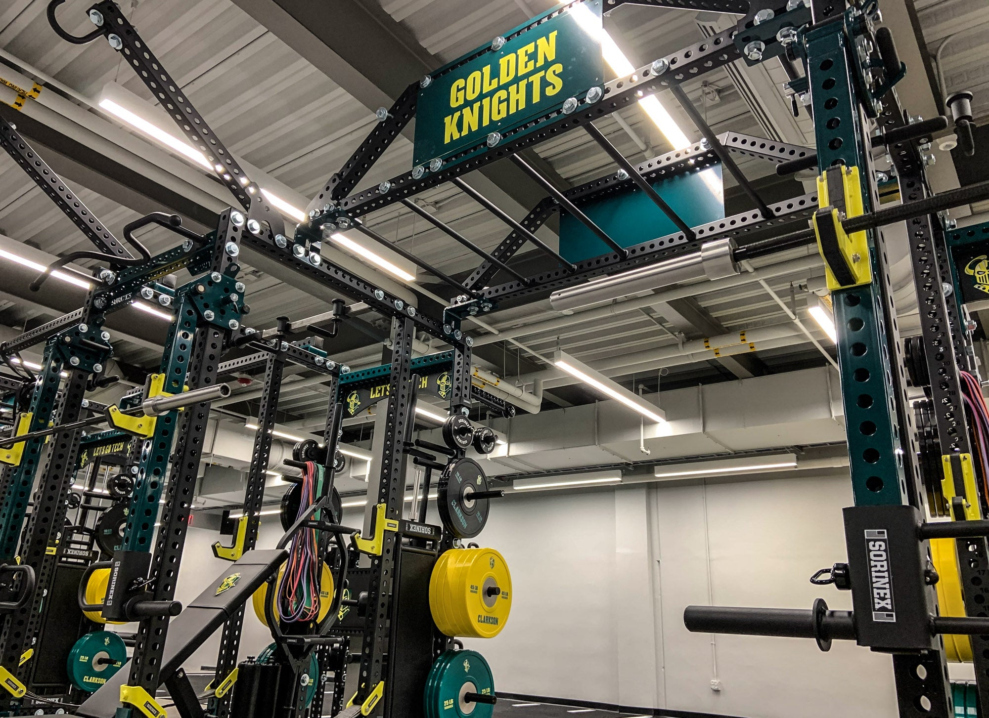 Clarkson University Weight training