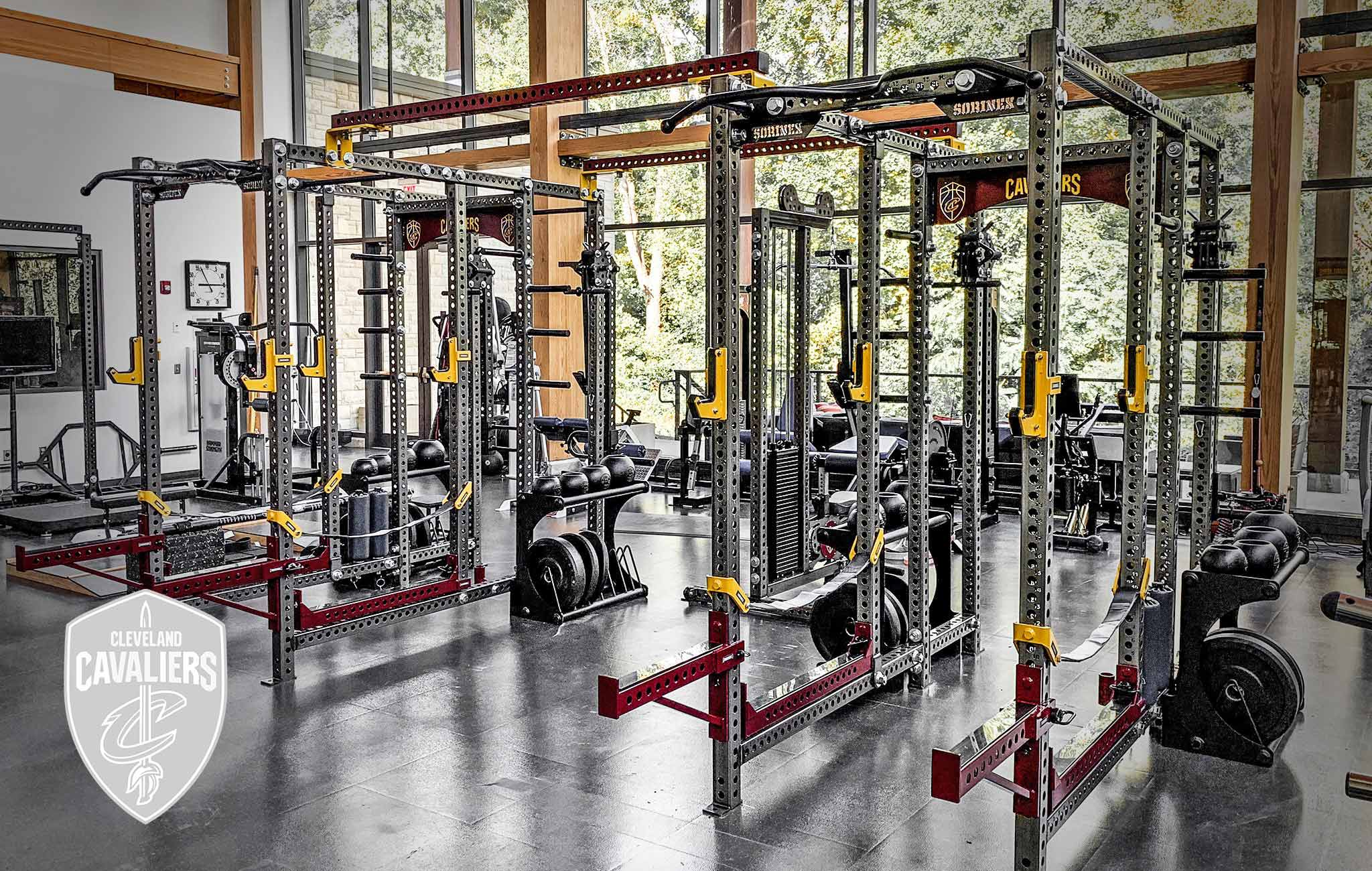Cleveland Cavaliers Sorinex strength and conditioning facility