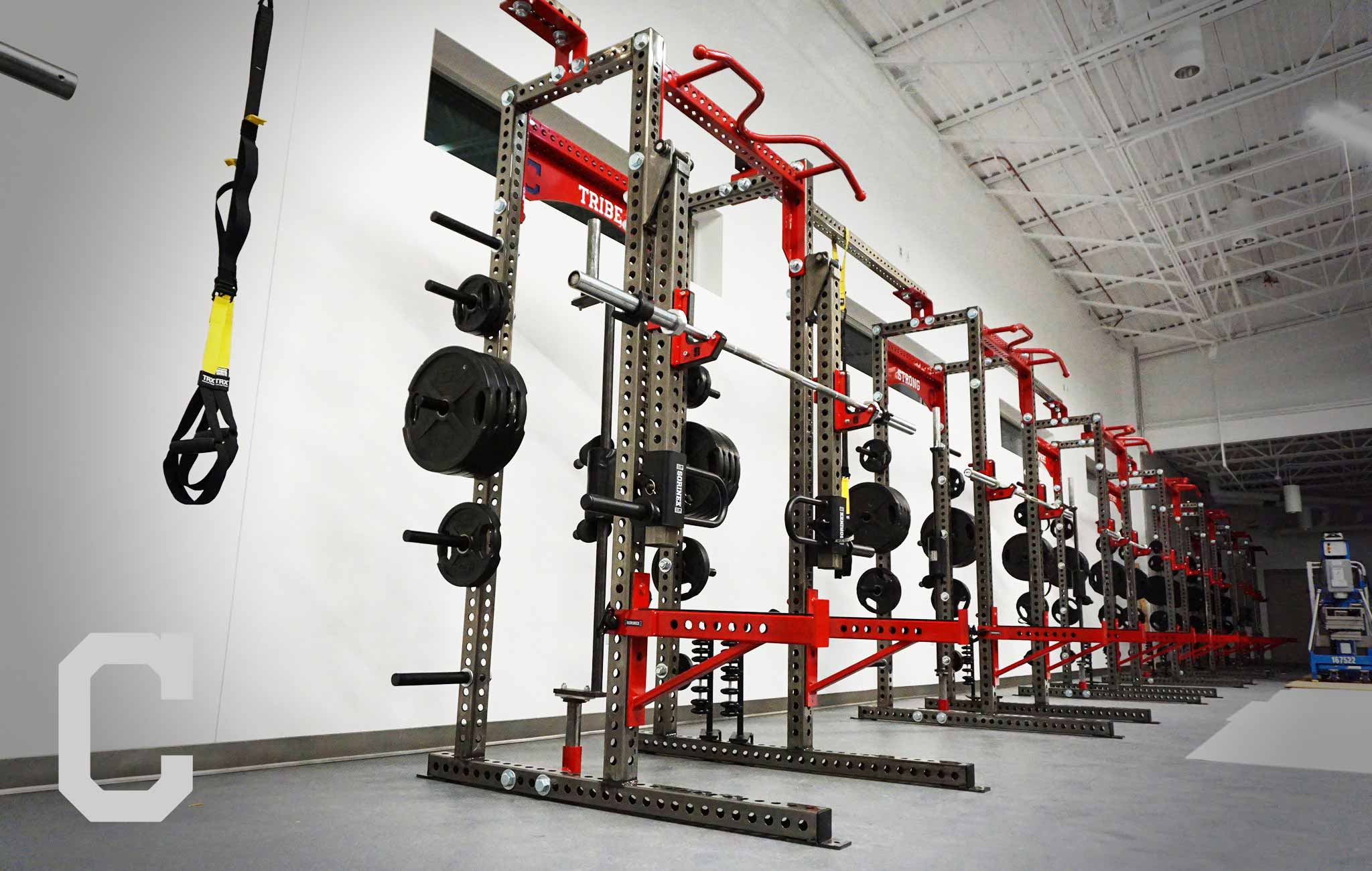 Cleveland Indians Sorinex strength and conditioning facility