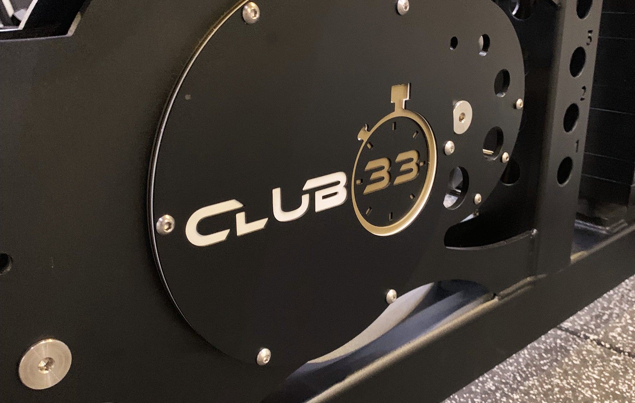 Club 33 Weight Room